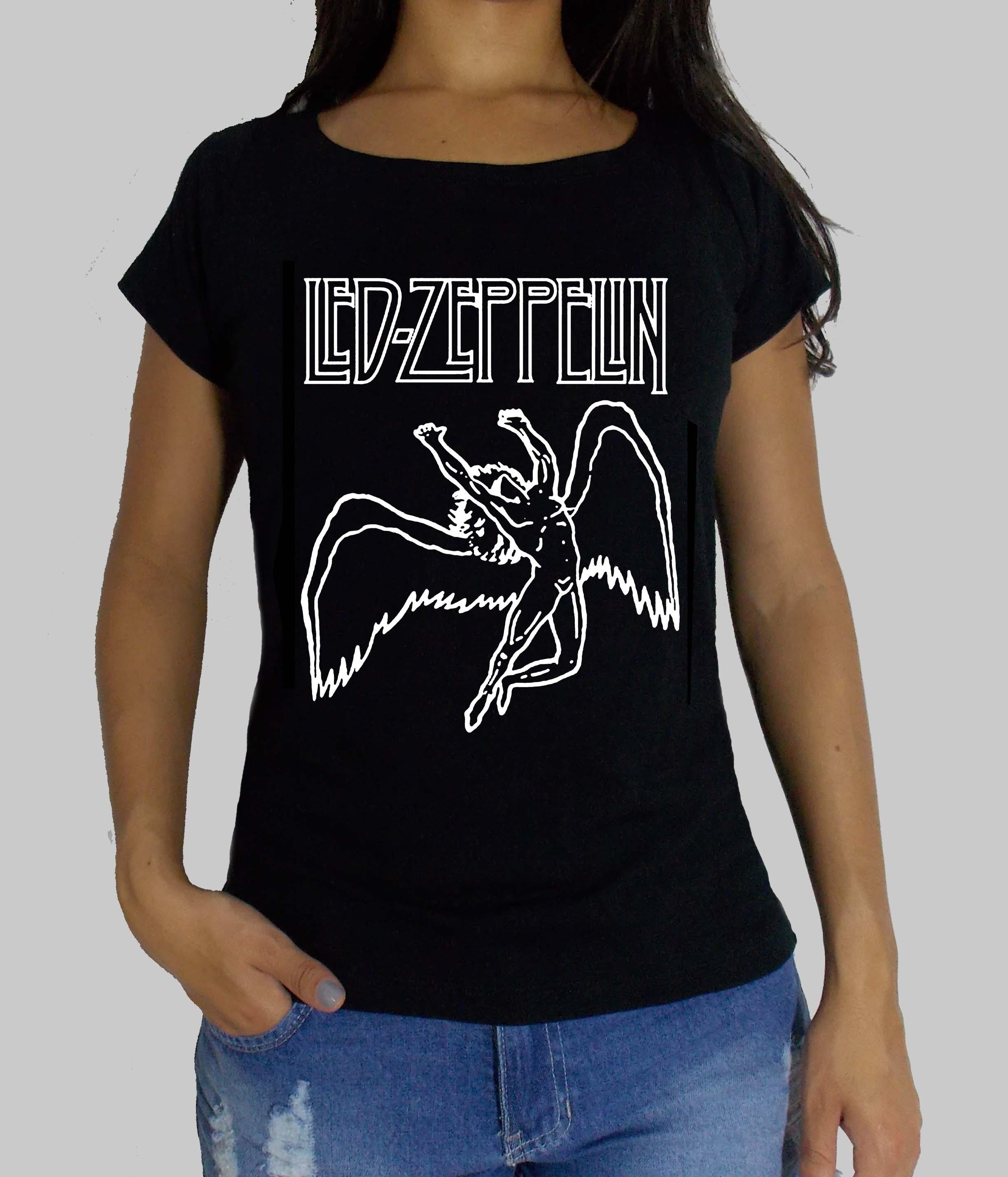 b5446b61d Camiseta Feminina Nirvana em Strass no Elo7