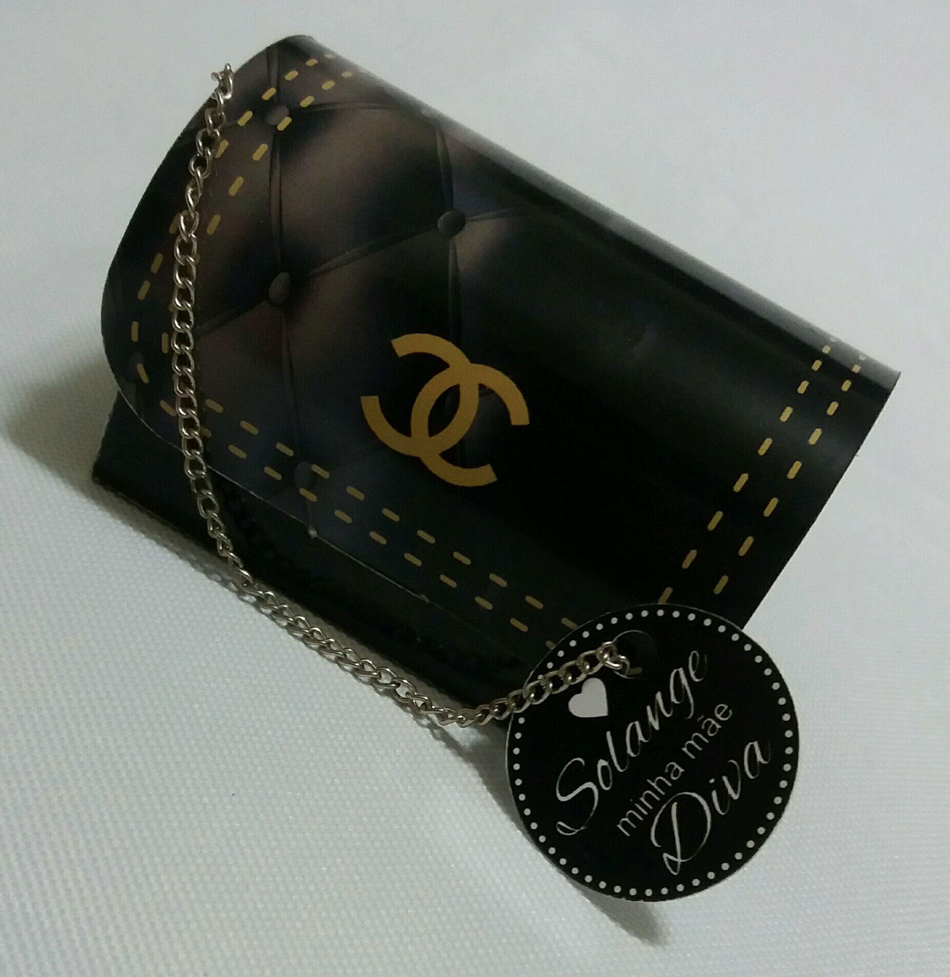 5d2ffdbec Caixa Bolsa Chanel no Elo7 | Lu Print Express (92EADE)