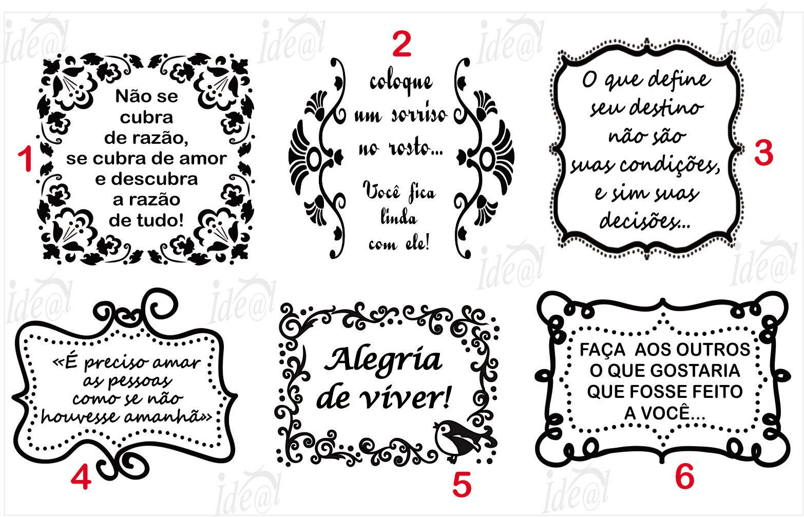 Carimbo Frases Unid No Elo7 Ideal Carimbos 92fa57