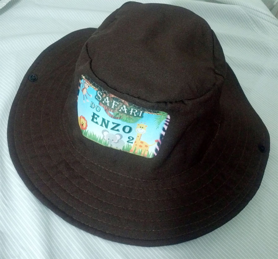 Chapéu Pescador Personalizado no Elo7  cc80a666604