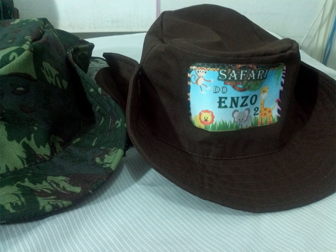 1c6c38a4dd634 Chapéu Pescador Personalizado no Elo7