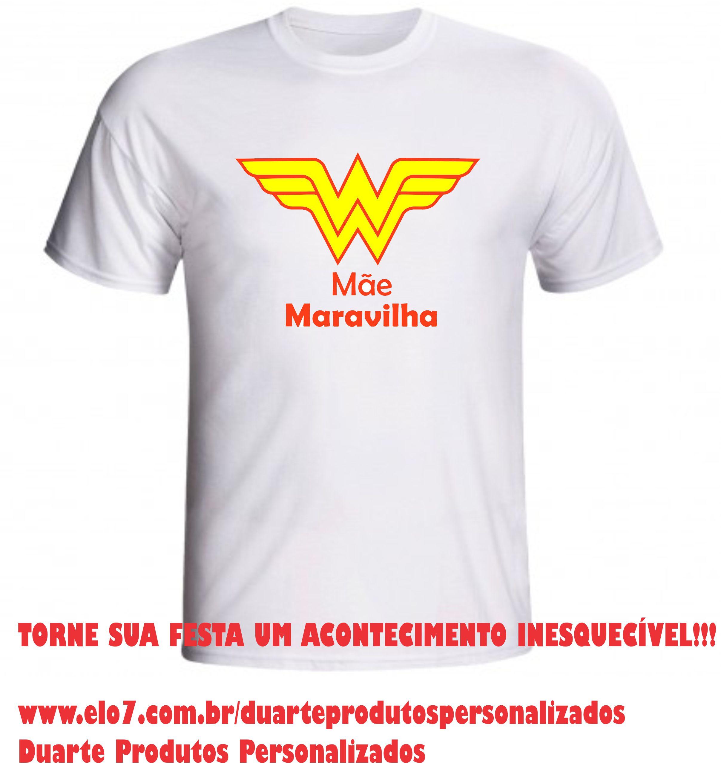 Camisa Personalizada Mãe  ca638c6b16216