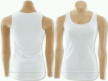 Camisa regata branca tradicional no Elo7  f3b81ea3269