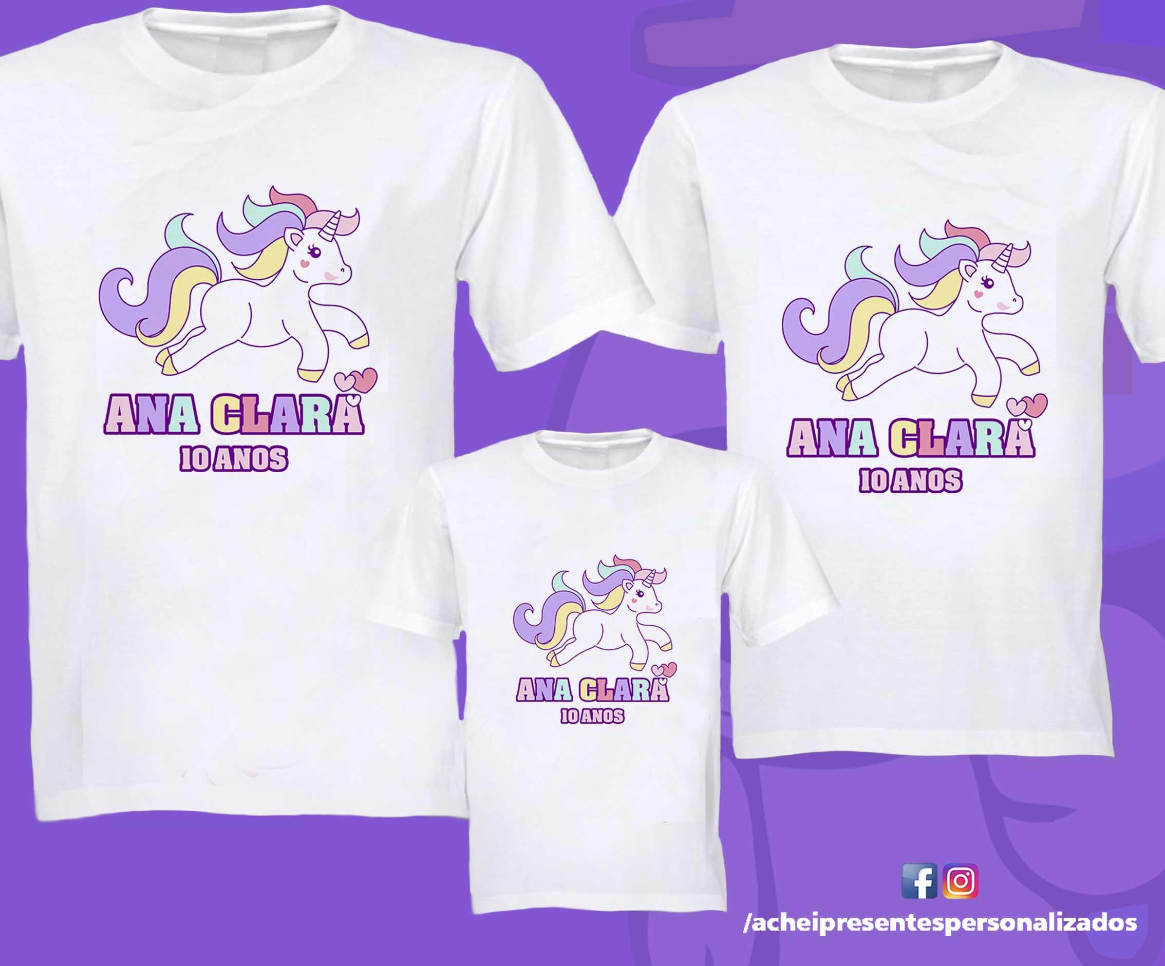 b44c65afa23db Camiseta Aniversario Unicornio
