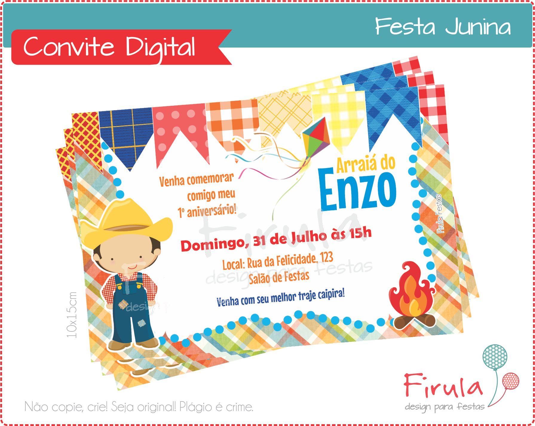 Roupa para Festa Junina Menino  a651215ed6f