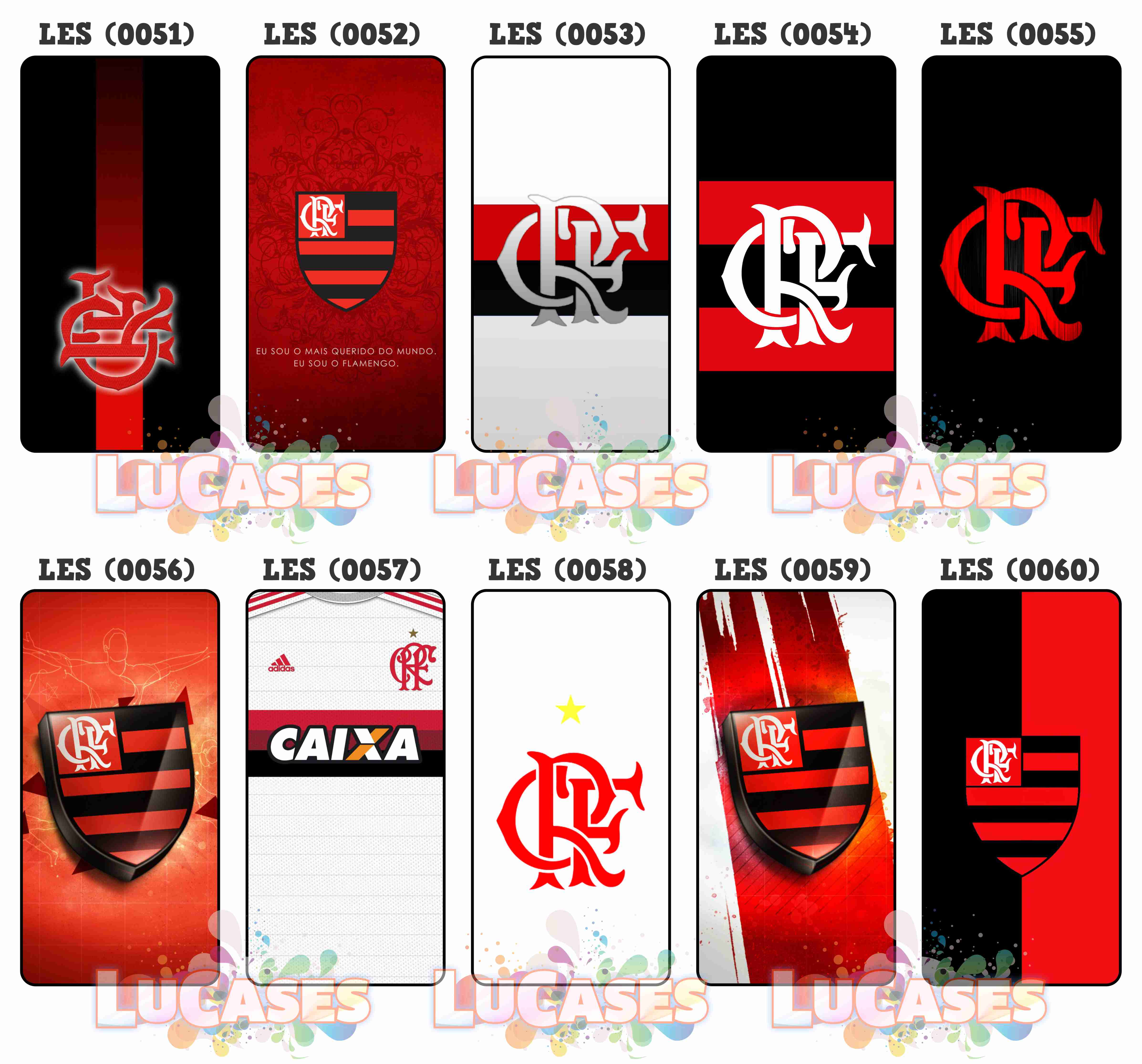 Capinha Capa Celular Flamengo Mengão