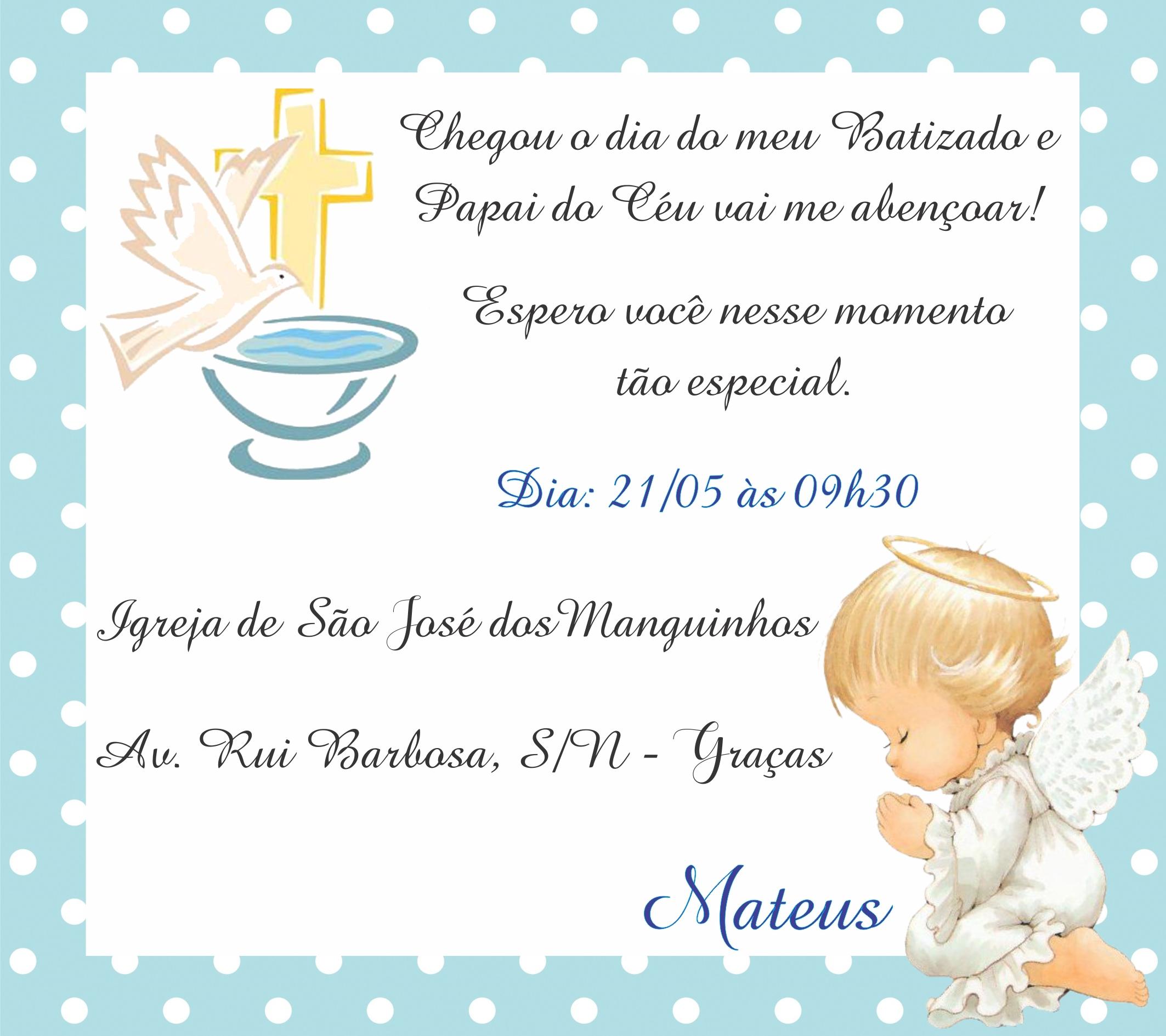 Convite digital batizado anjinho azul no elo7 marcante artes 947ea6 altavistaventures Gallery