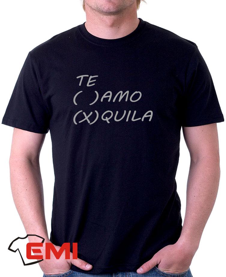 2149-Camisetas te amo tequila no Elo7  3e410b0859f2b