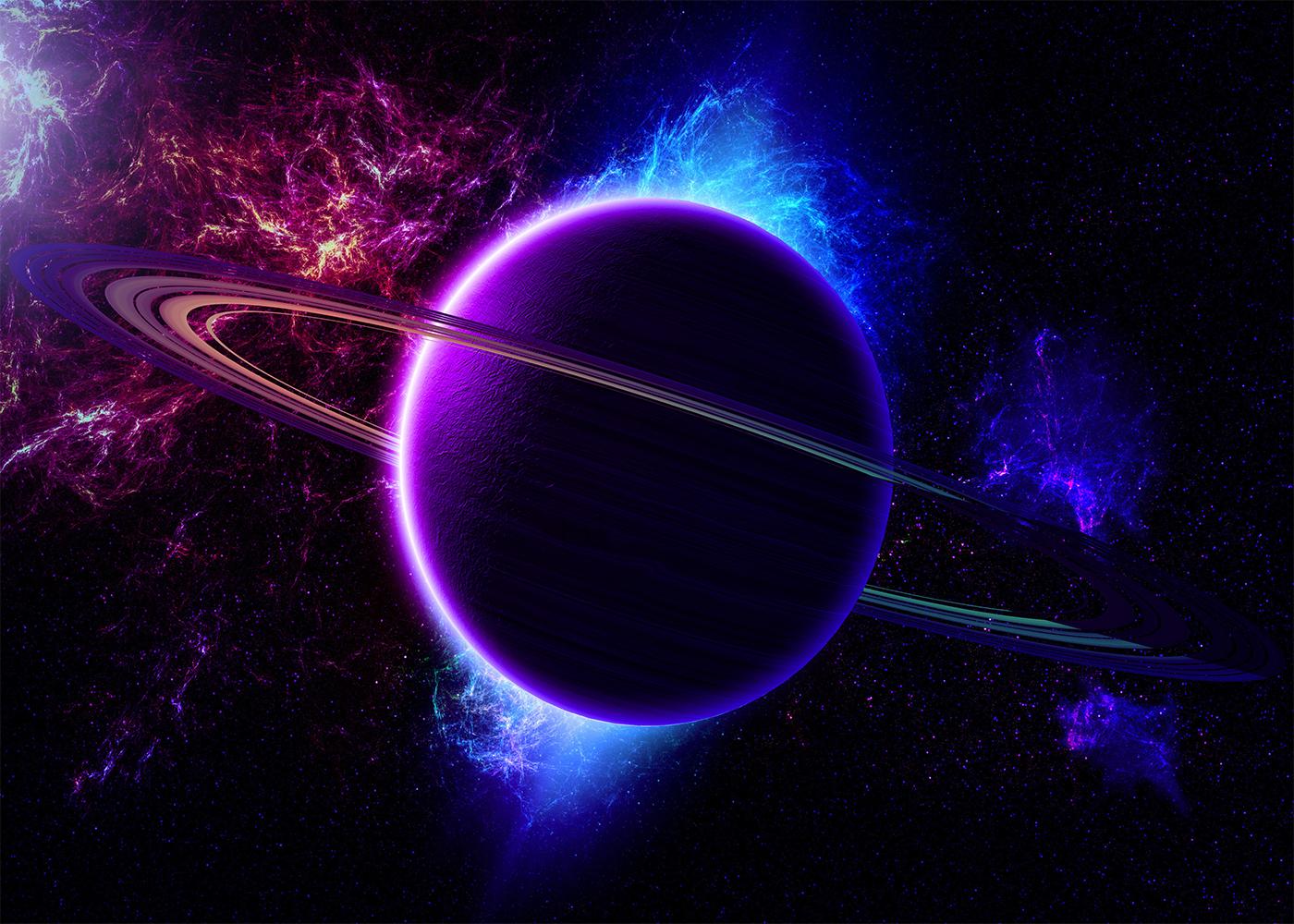 Papel De Parede 3d Universo M 0007 No Elo7 Paredes Decoradas  -> Imagens Do Universo Para Papel De Parede