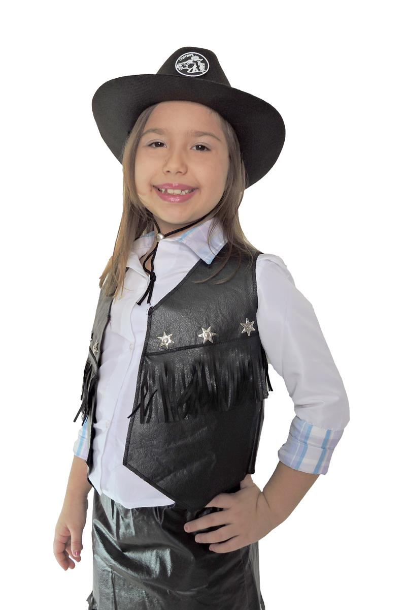 ed3311f4b166e Chapeu Cowboy Cowgirl Country Infantil