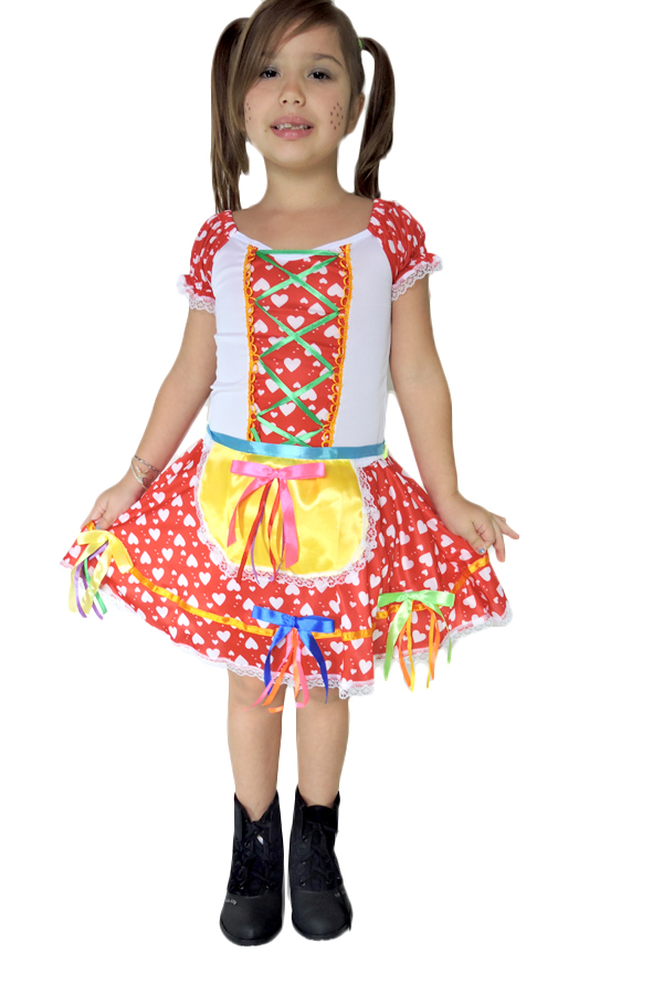 1d6b8ed803fc0 Vestido de Festa Junina
