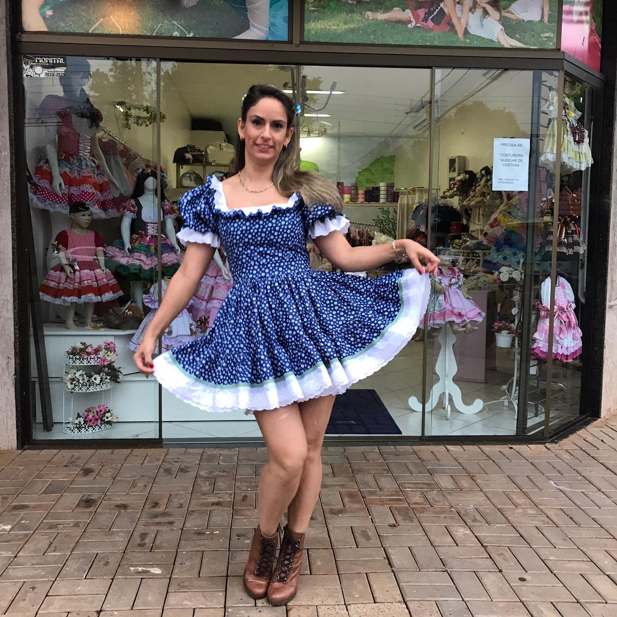 Vestido Caipira Juliana