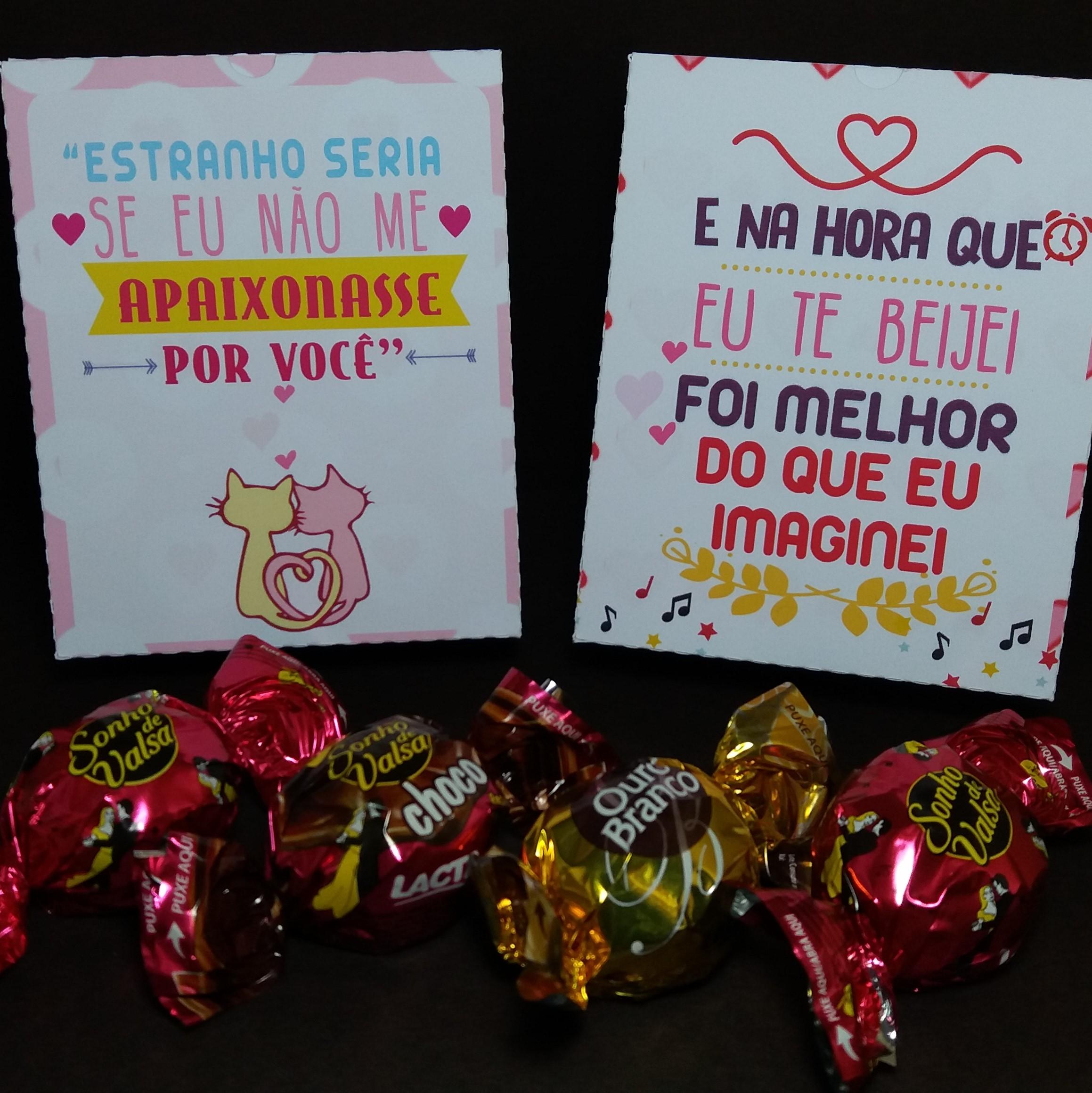 Caixa Dia Dos Namorados Frases Musica