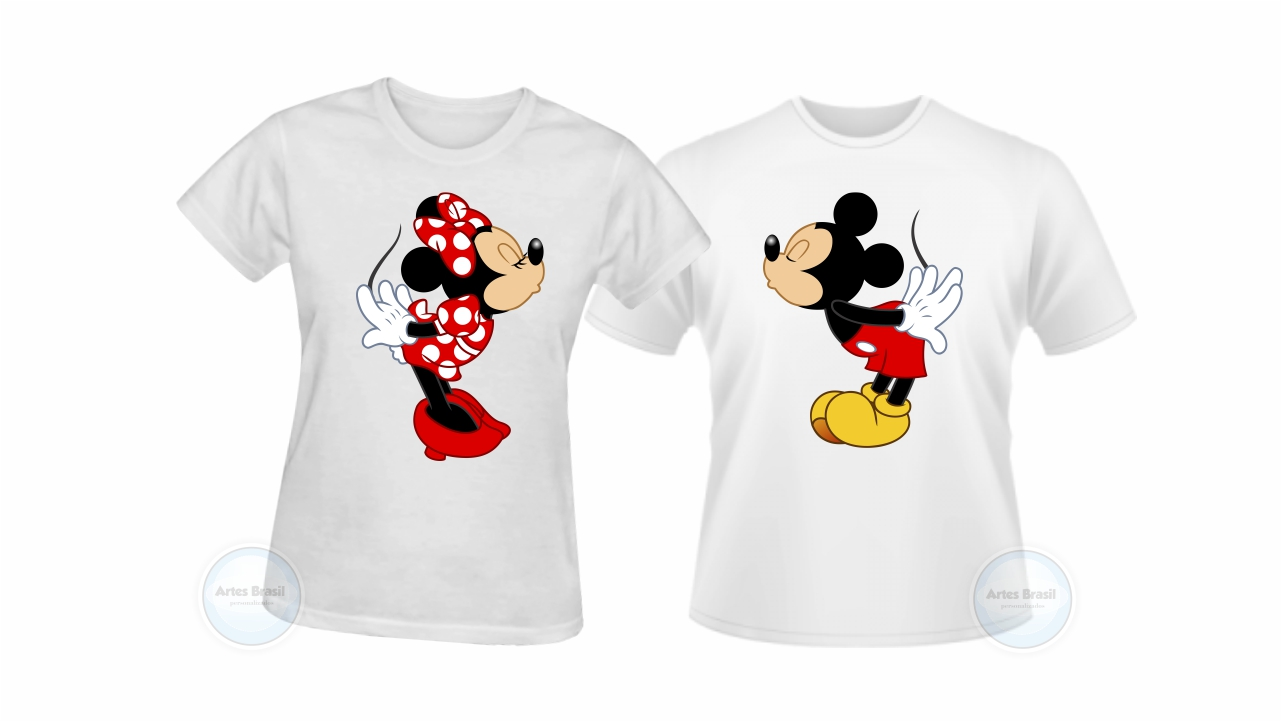 2bb0a0cfff220 Berloque Casal Mickey e Minie