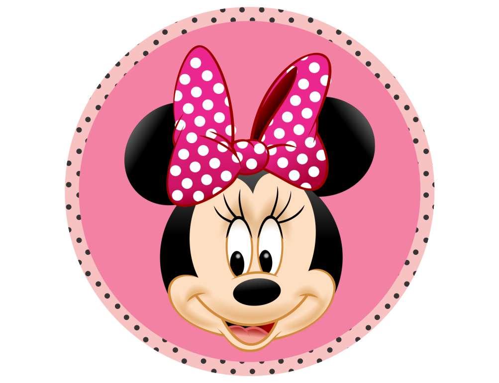 Placa Tag Festa Minnie Rosa Mod05 No Elo7 Decorandoegrudando