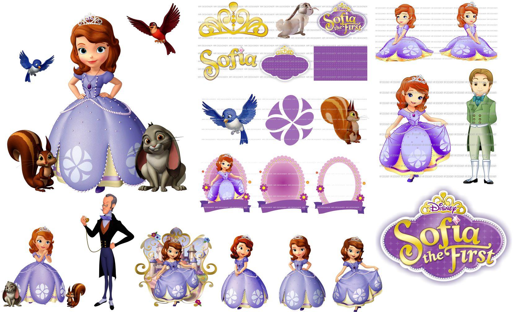 imagens da princesa sofia elo7