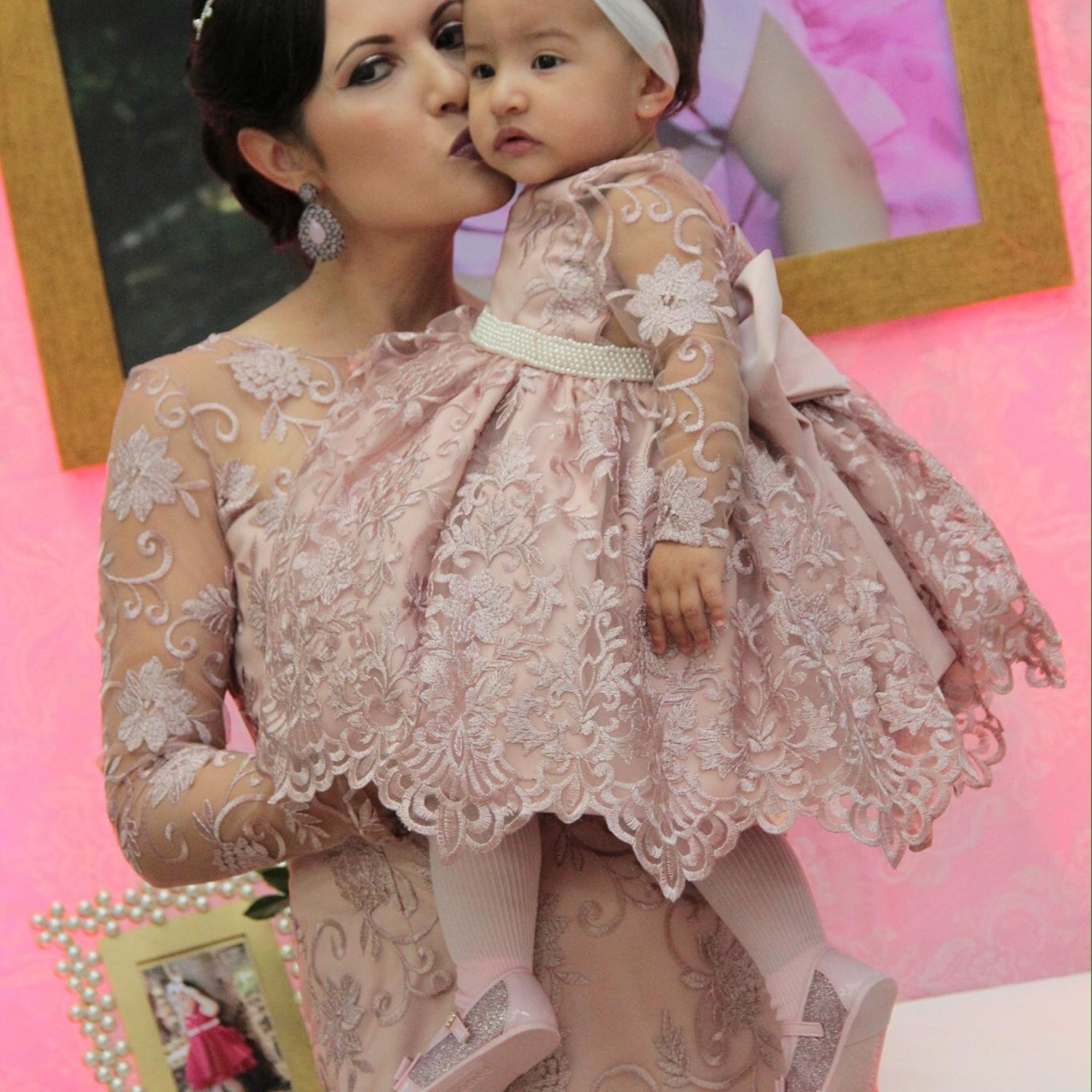 4c8b1b2b87c600 Vestido mãe e filha