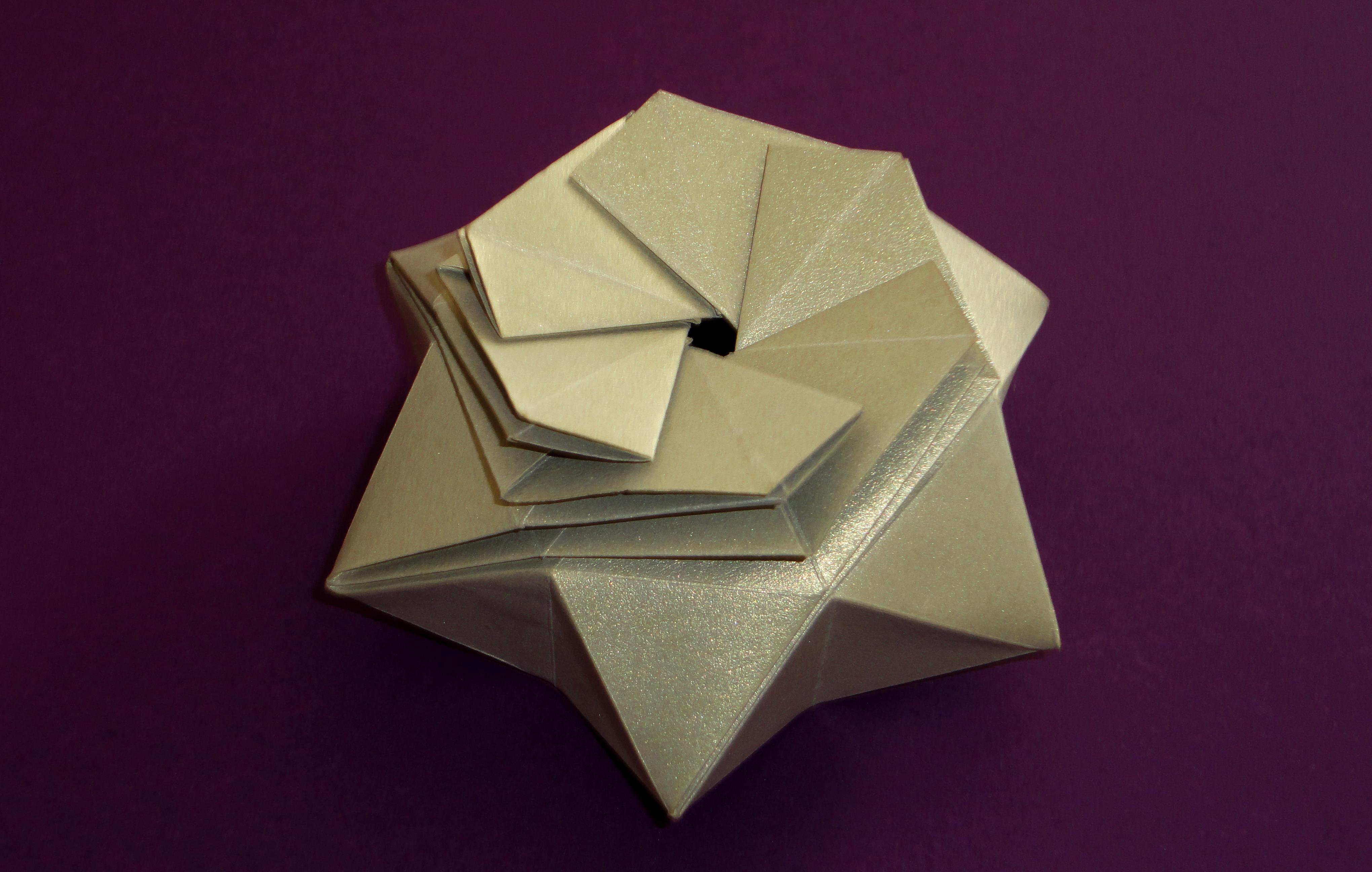 Lembancinha Caixa Origami No Elo7 Origami Star 8e3605