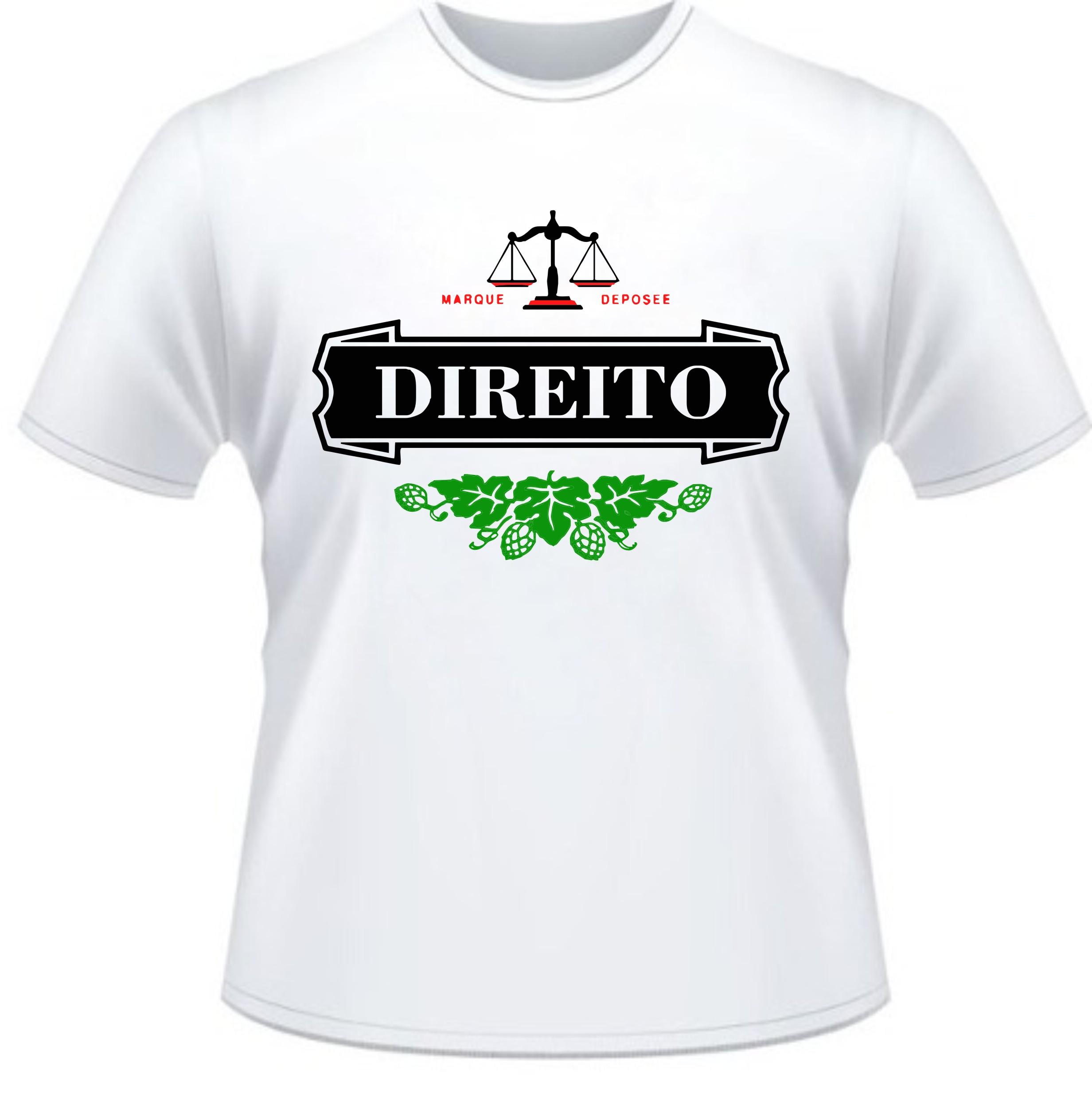 Camiseta Universitaria Heineken Curso Direito  5d72b362390f1
