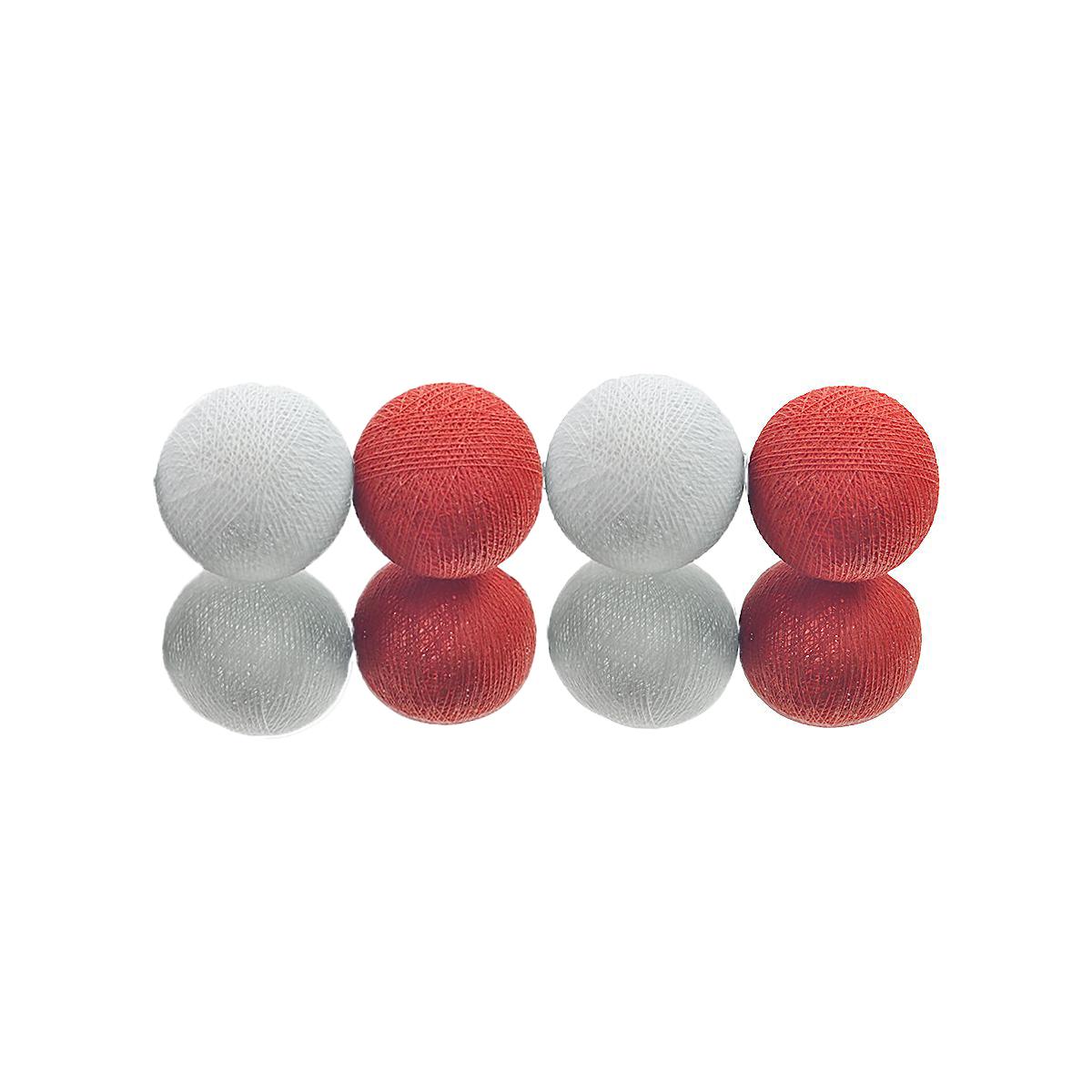 d5060cad0 Cordão de luz A PILHA 20 bolas Branco Tu no Elo7