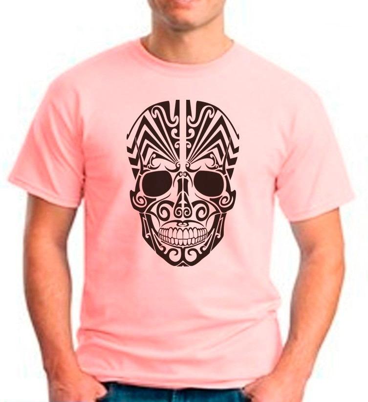 Camiseta Rosa Caveira  63a69fa4d12