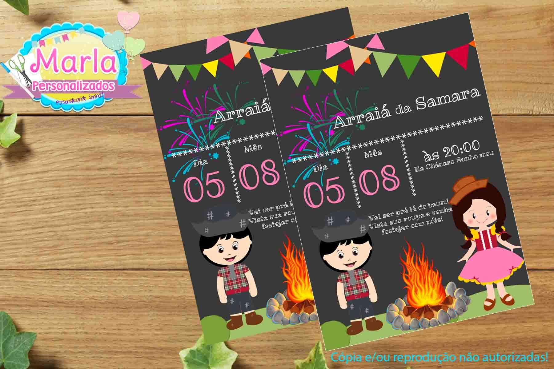 Convite Digital Festa Junina No Elo7 Marla Personalizados 965aea