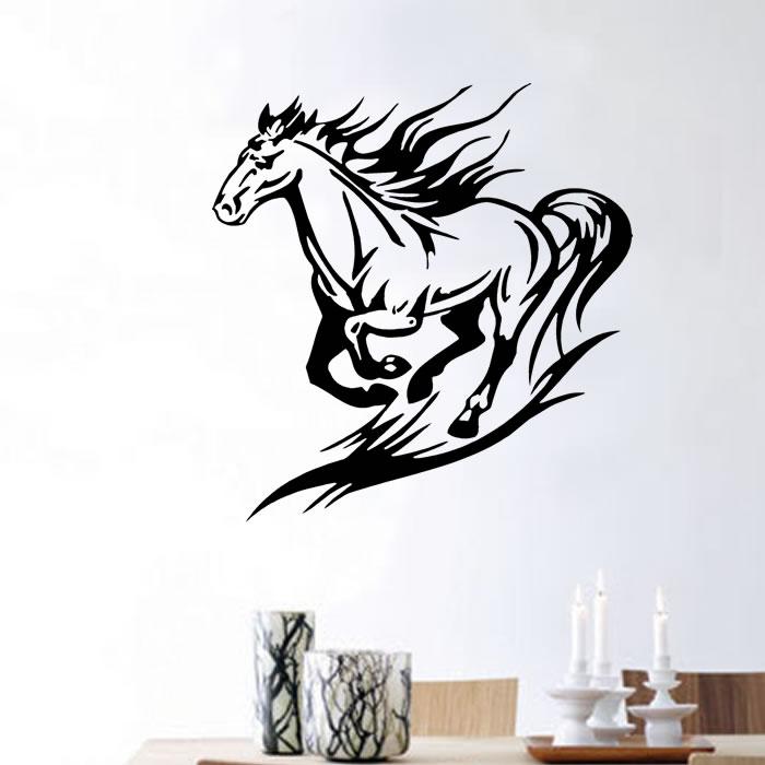 Adesivos de Parede Cowboy Cavalgada Country Cavalo  b243cf9a104