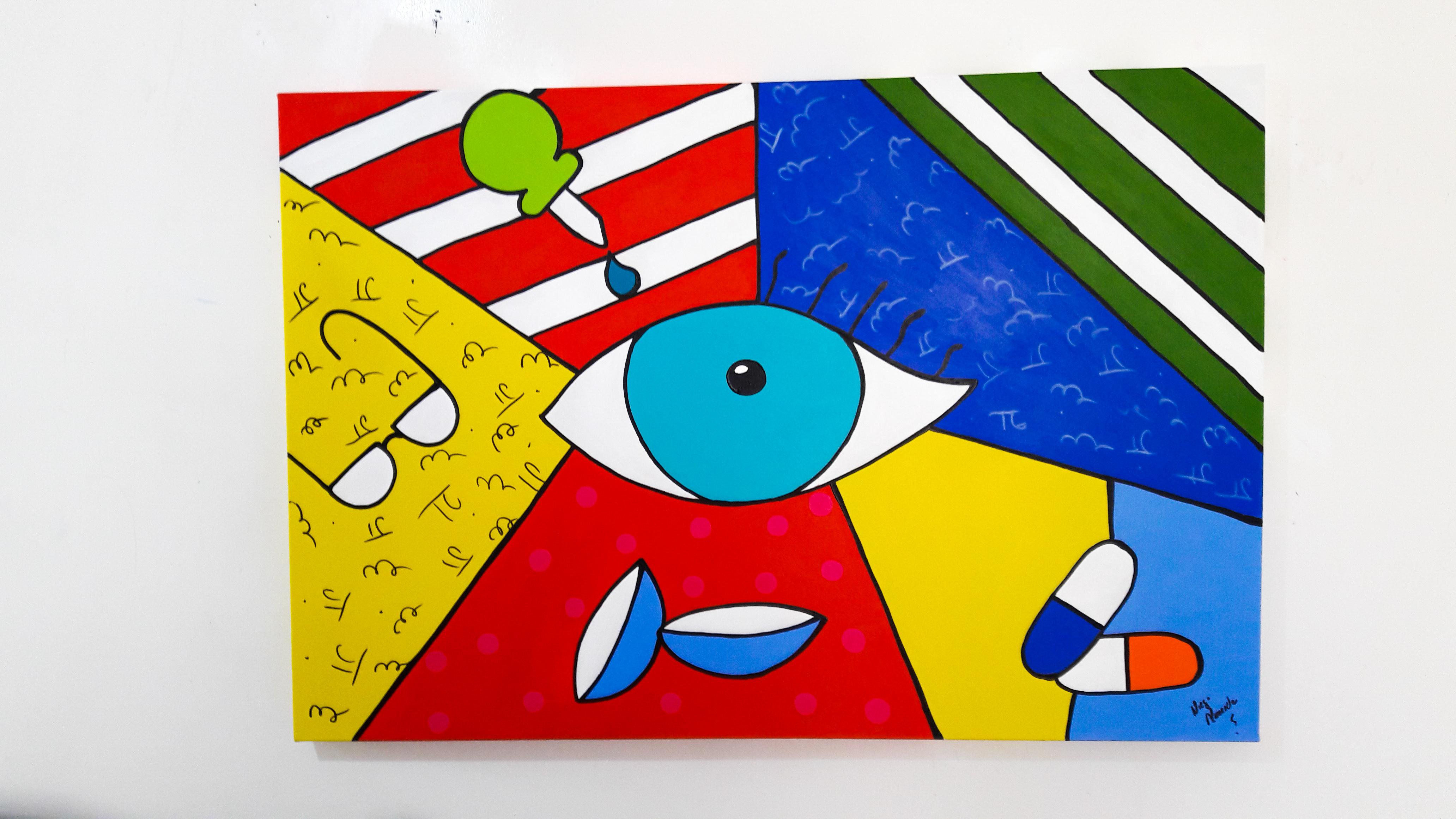 8b0e9fe490e58 Quadros para oftalmologia - Coleção de Atelier Granja Vianna ( 06719429)    Elo7