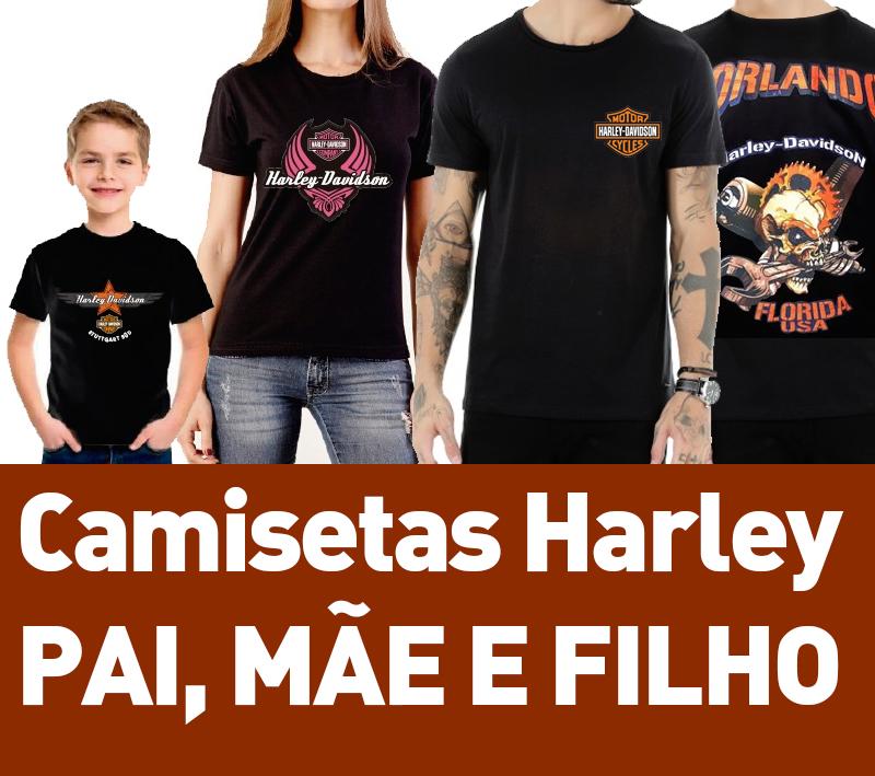 2c6f4ead032c4 Kit camisetas Harle.y Davidson no Elo7 | Artes Criativas (97016C)