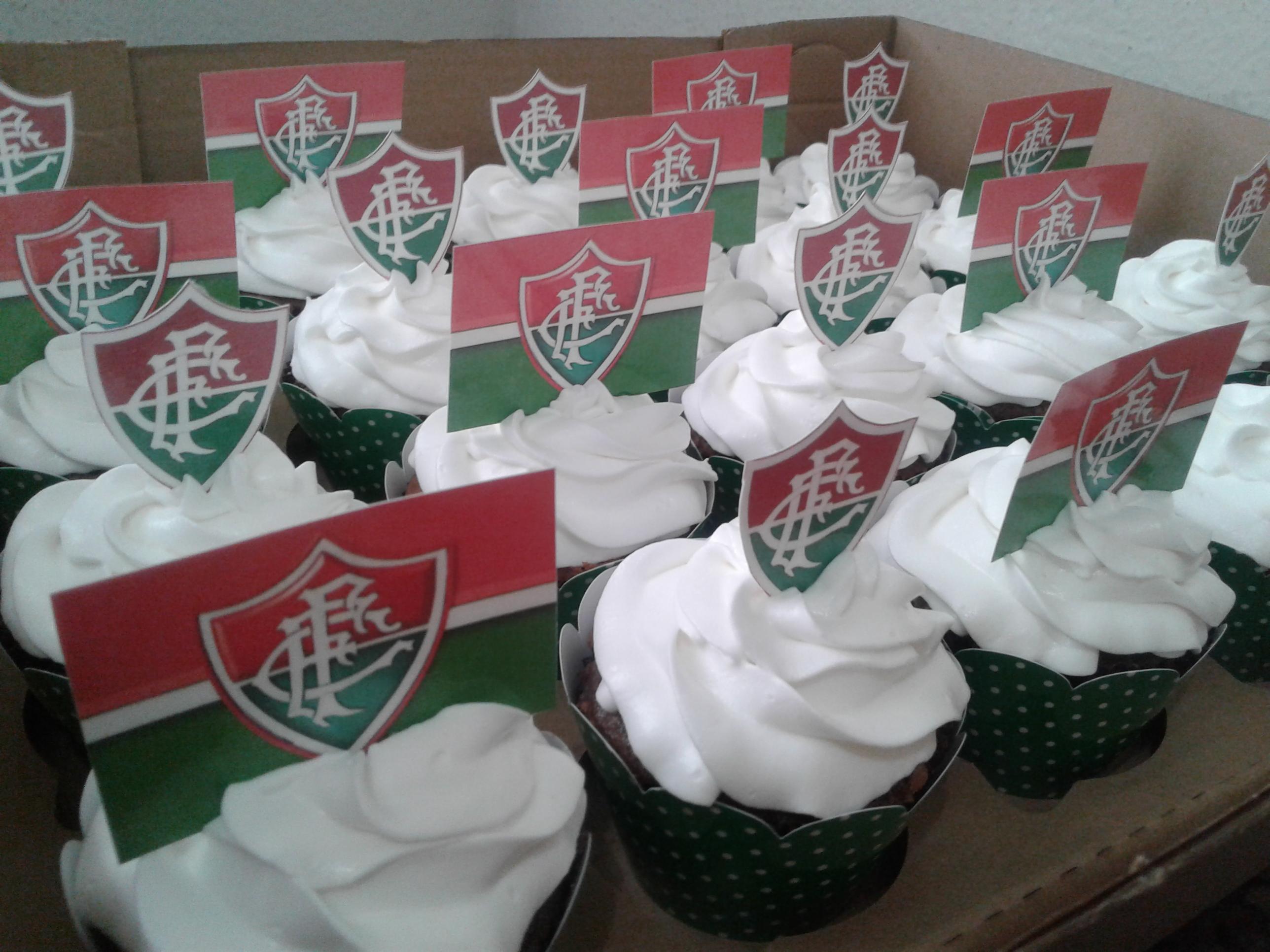 Cupcakes do Fluminense  eef633c44c91e
