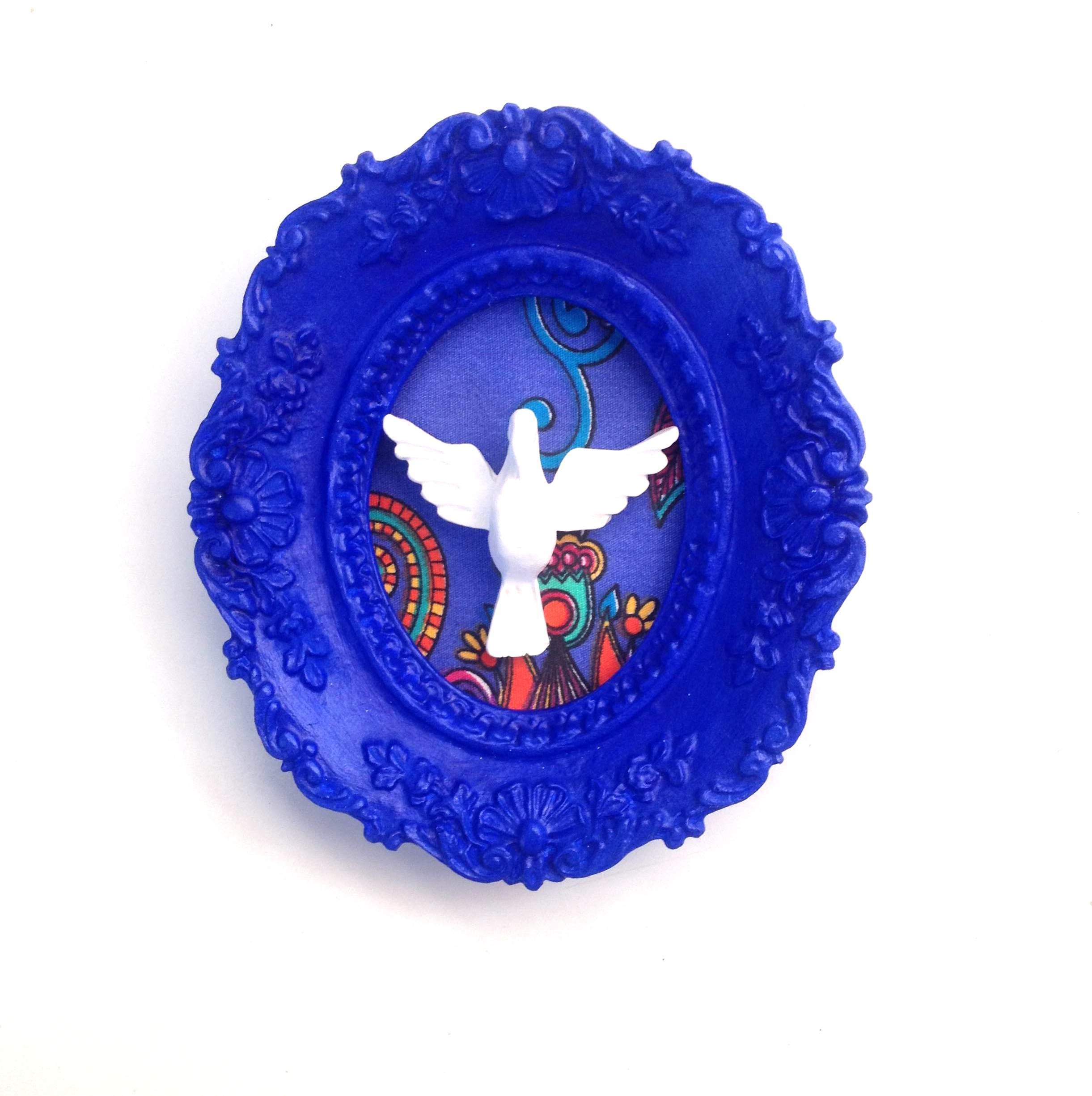 Design Of Quadro Azul Divino e preço