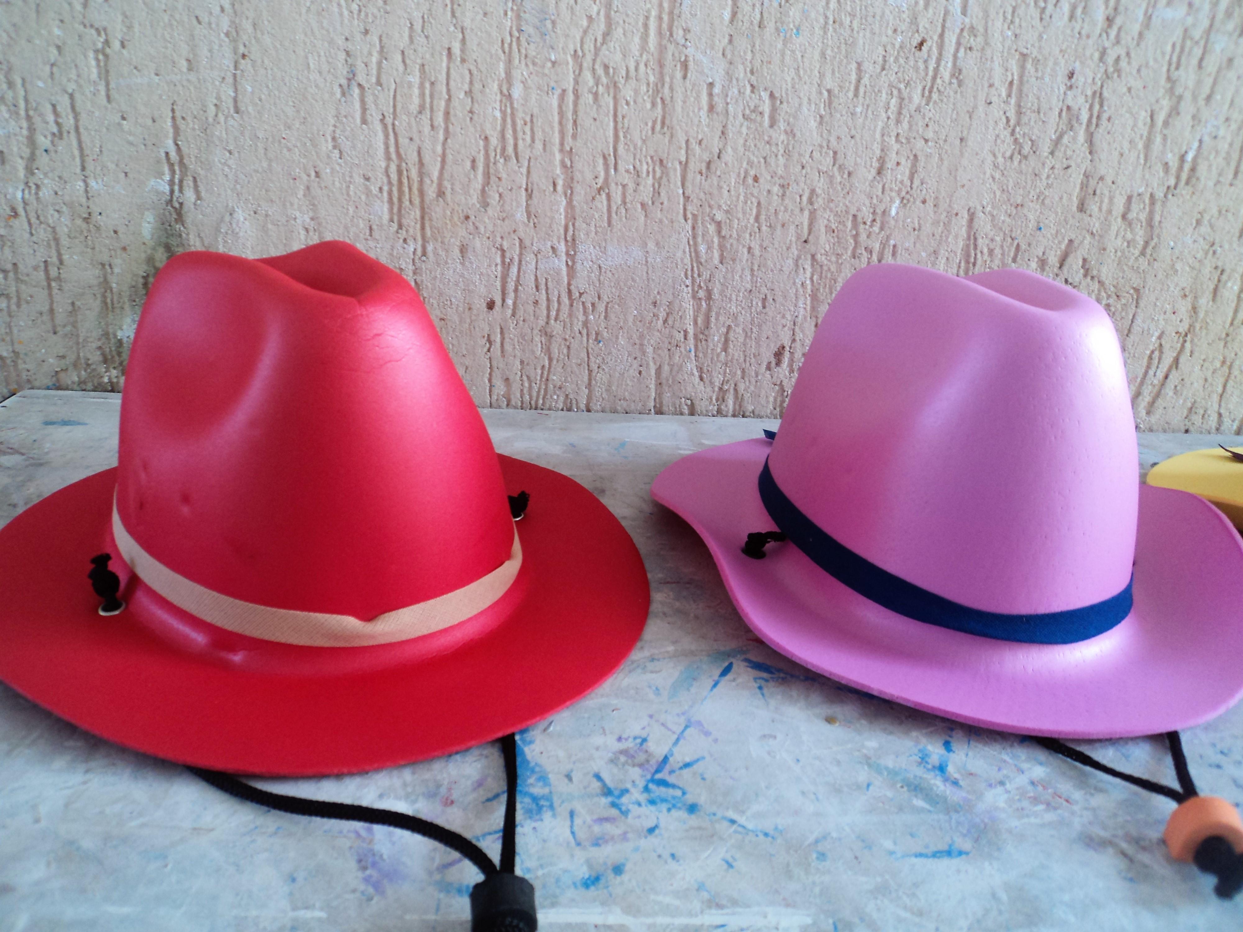 Chapeu de Cowboy em Eva para Tubete   Elo7 ef13472ecc