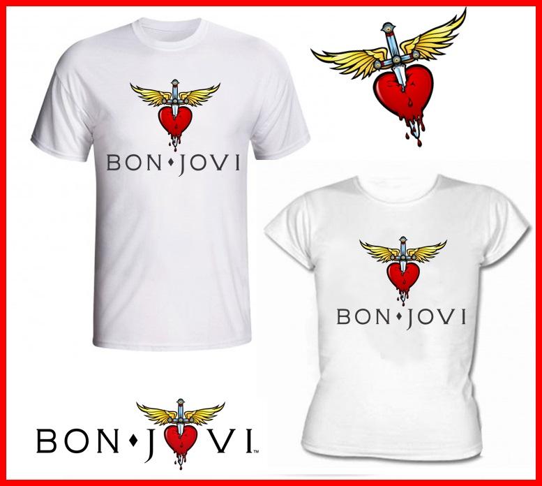 dca33b985 Camiseta do Bon Jovi