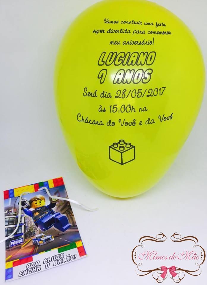 Bexiga para Festa Amarela Bebe  adc8589cab4