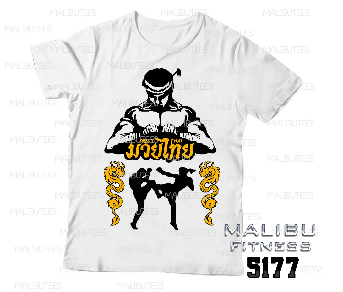 Camisetas Esportes Muay Thai  1dd7ba4674343