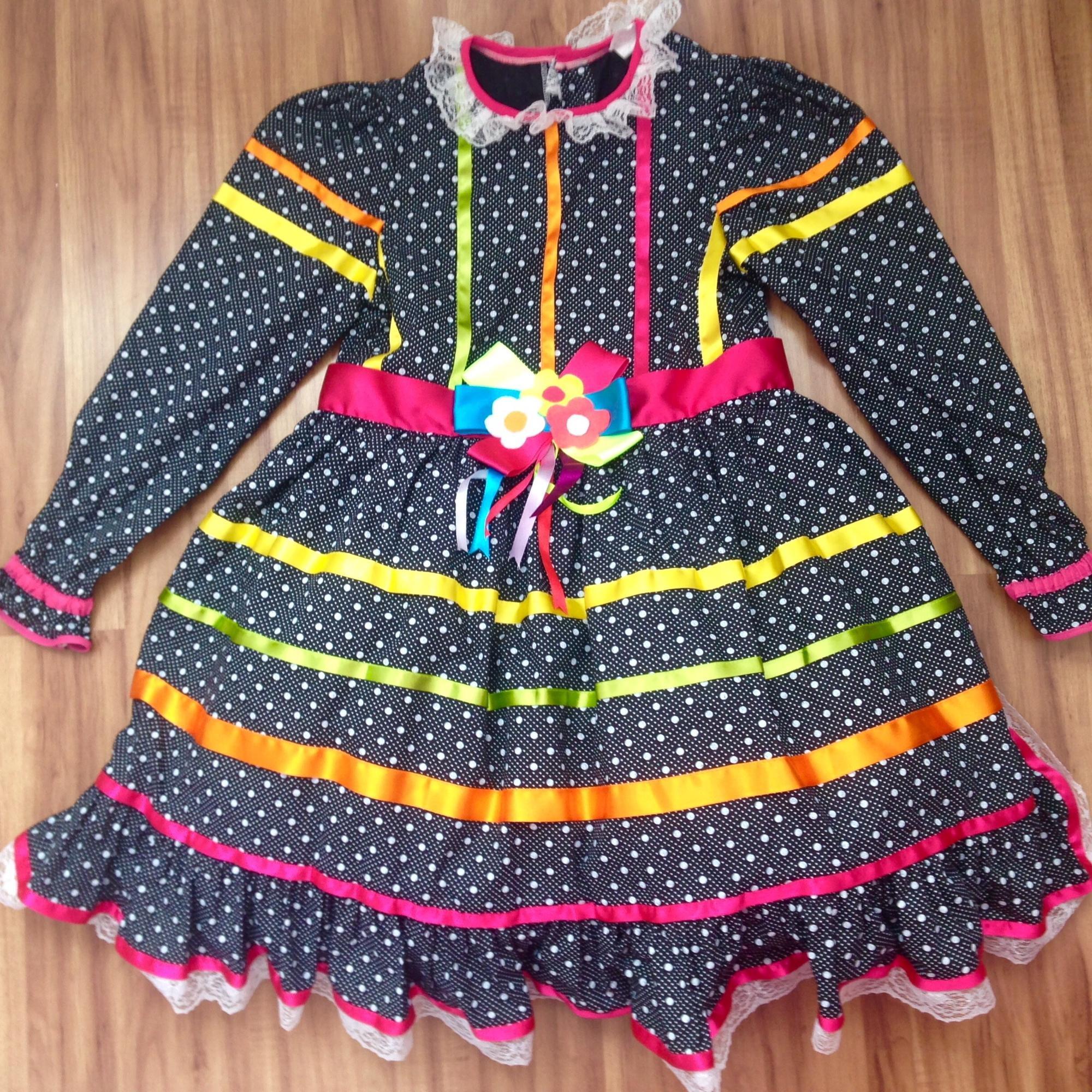 Vestido de festa junina em juiz de fora