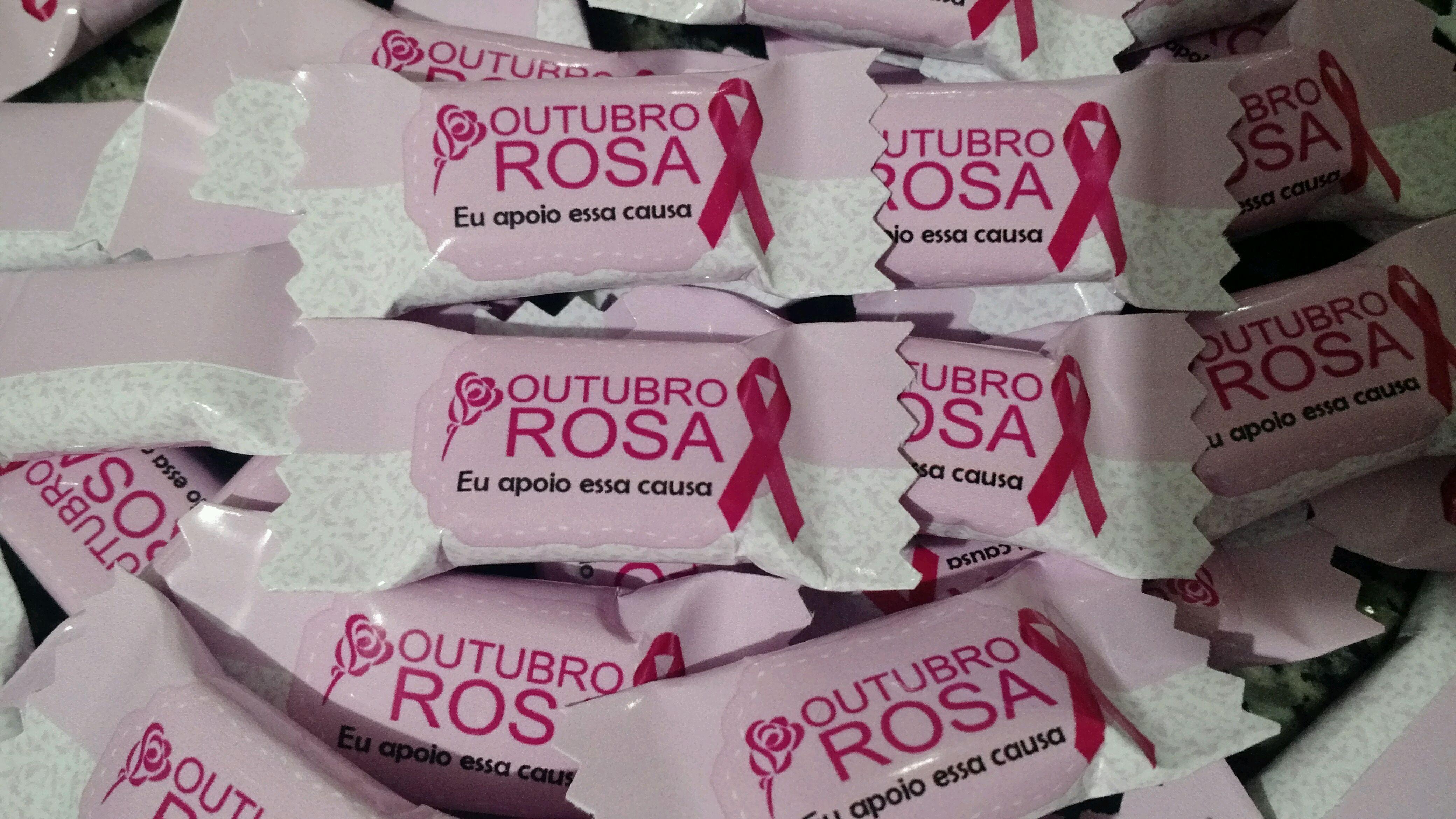 Suficiente Personalizados Outubro Rosa   Elo7 QS59