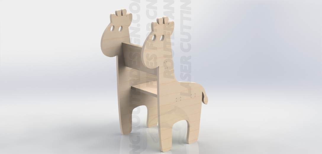 Kit Para CNC ou Laser Mesa Banco Criança