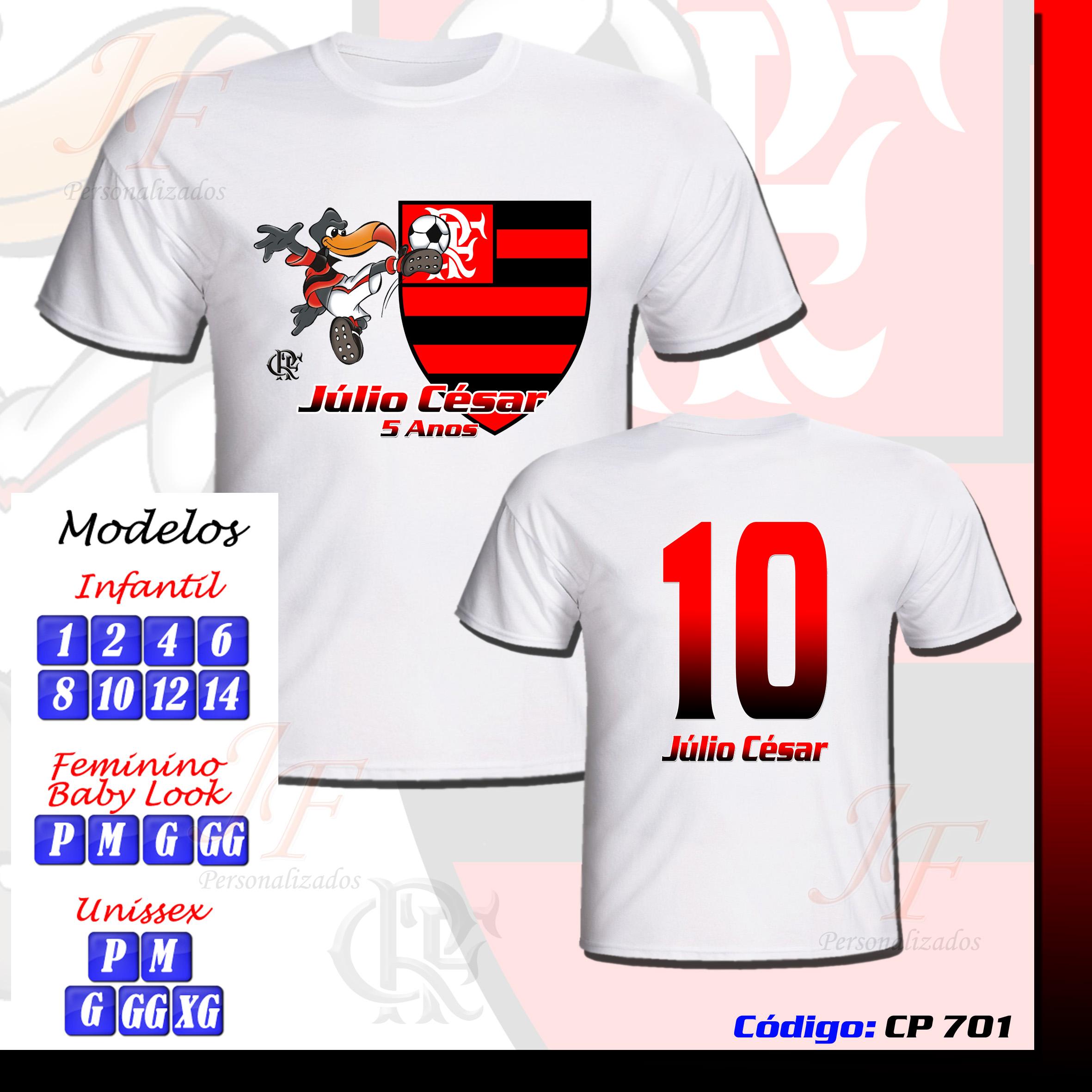 Camiseta Time do Flamengo  625d32caf5cf8