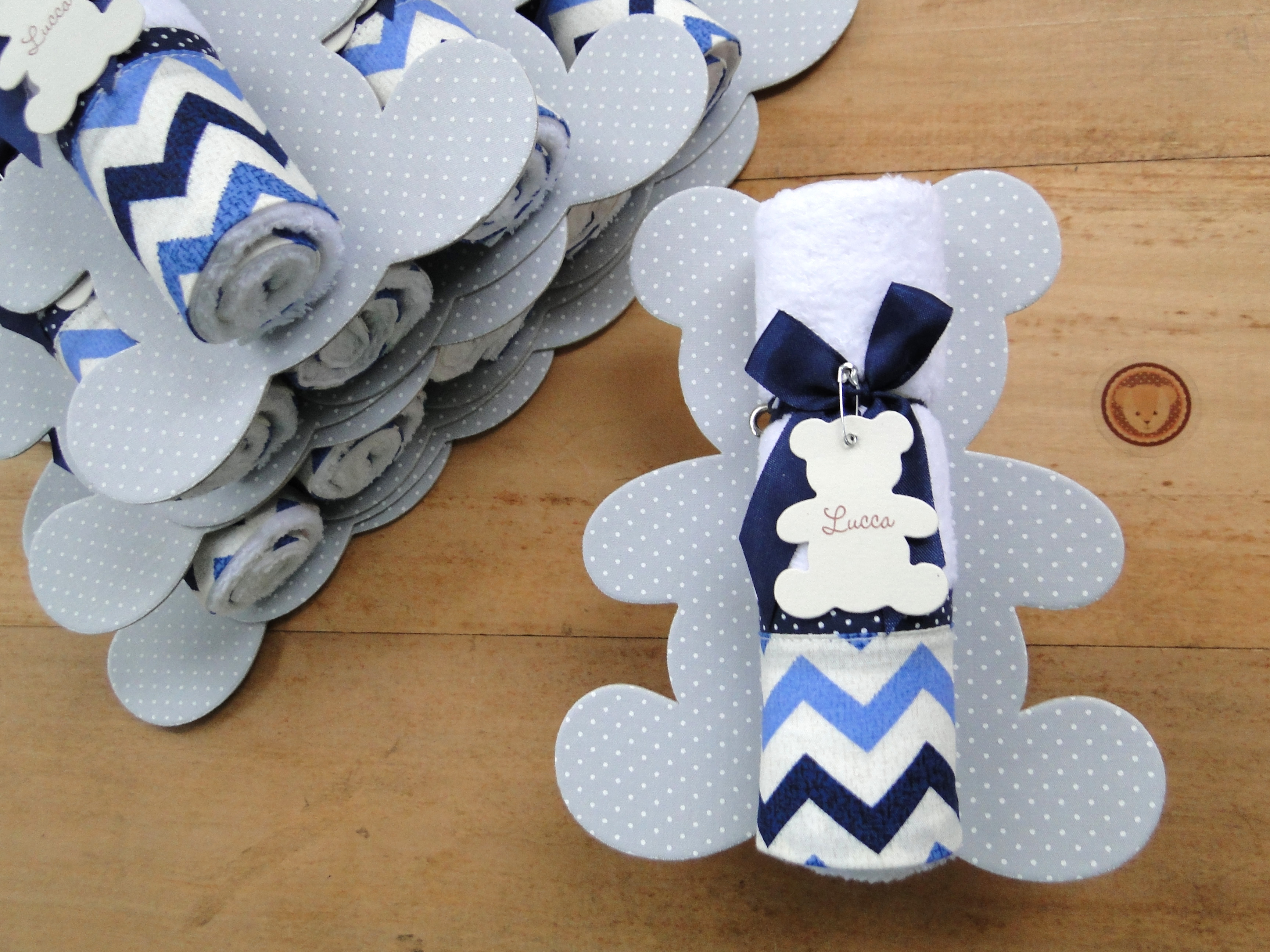 Design Of Lembrancinha Maternidade URSO cinza/azul e preço