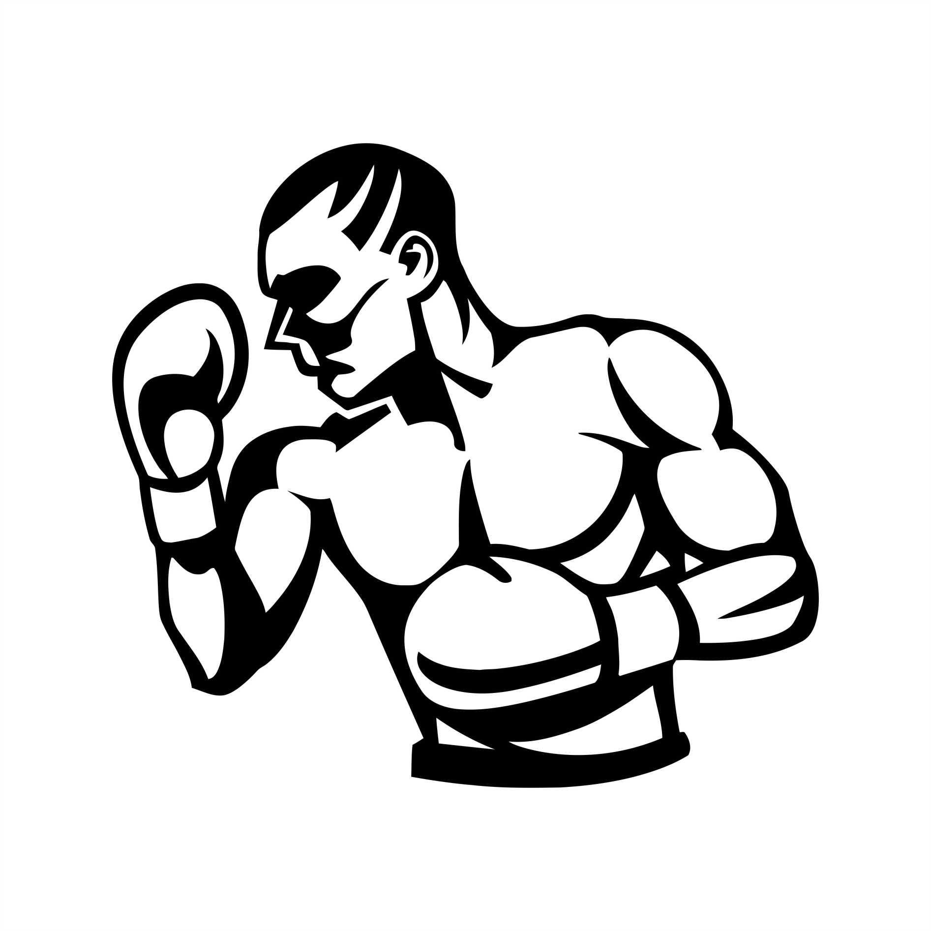 Adesivo Box Boxer Muay Thai Esportes No Elo7 Queen Industria De