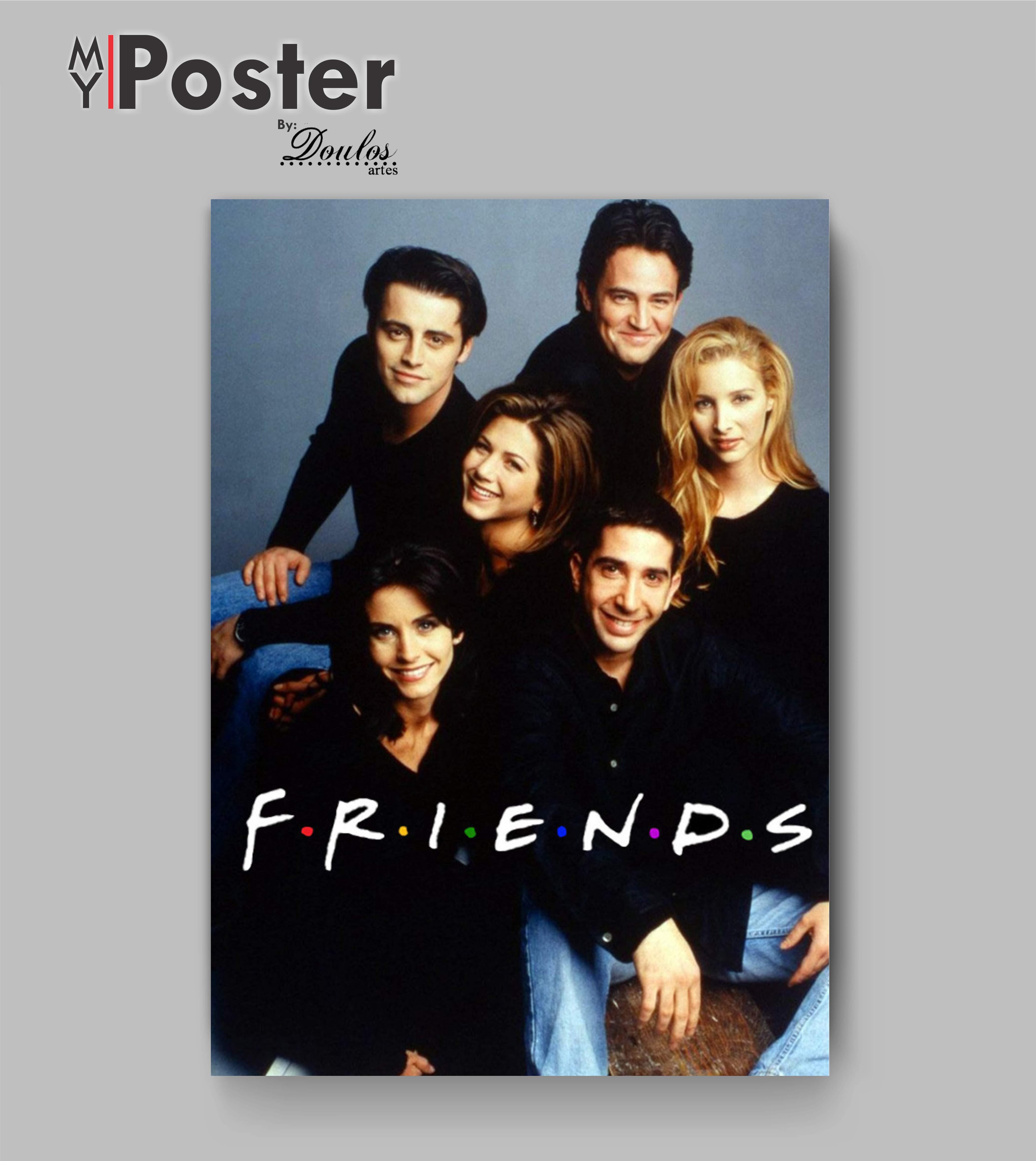 Poster De Friends