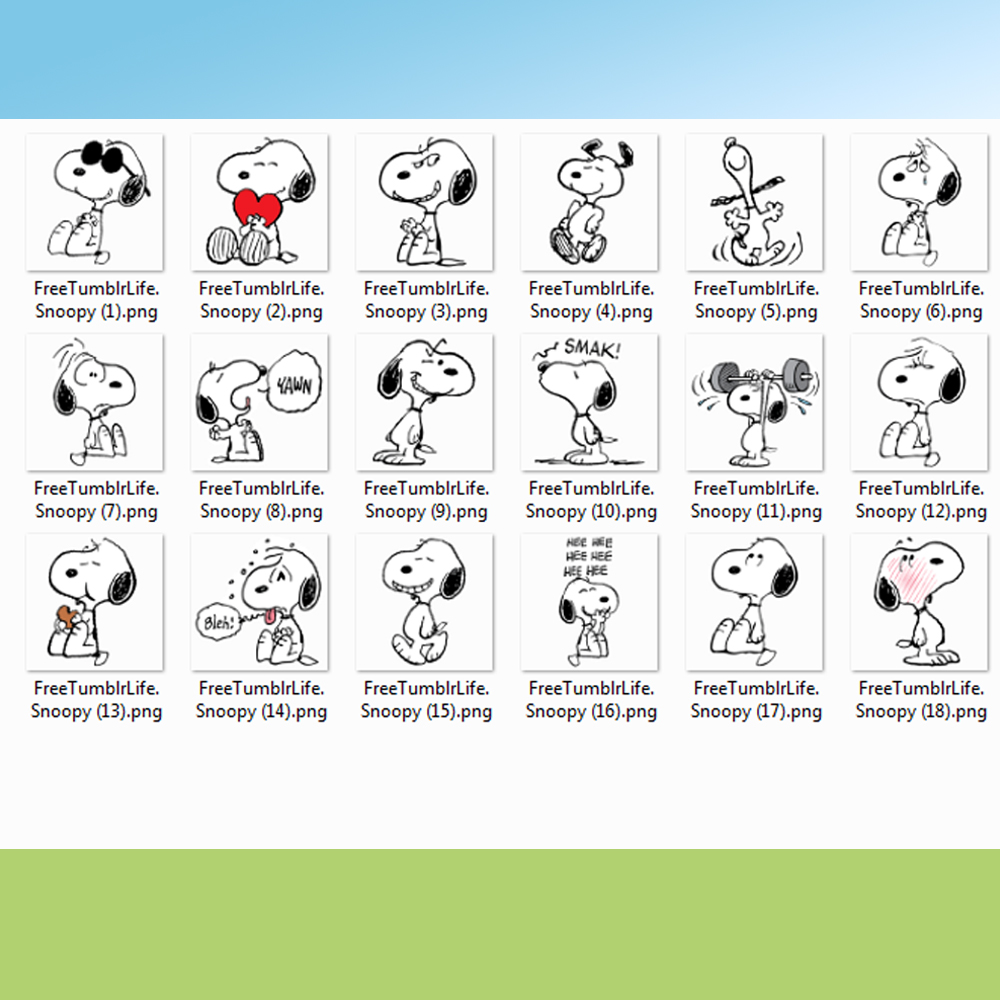 Kit Digital Scrapbook Snoopy Png 1 No Elo7 Artepratika 993e22