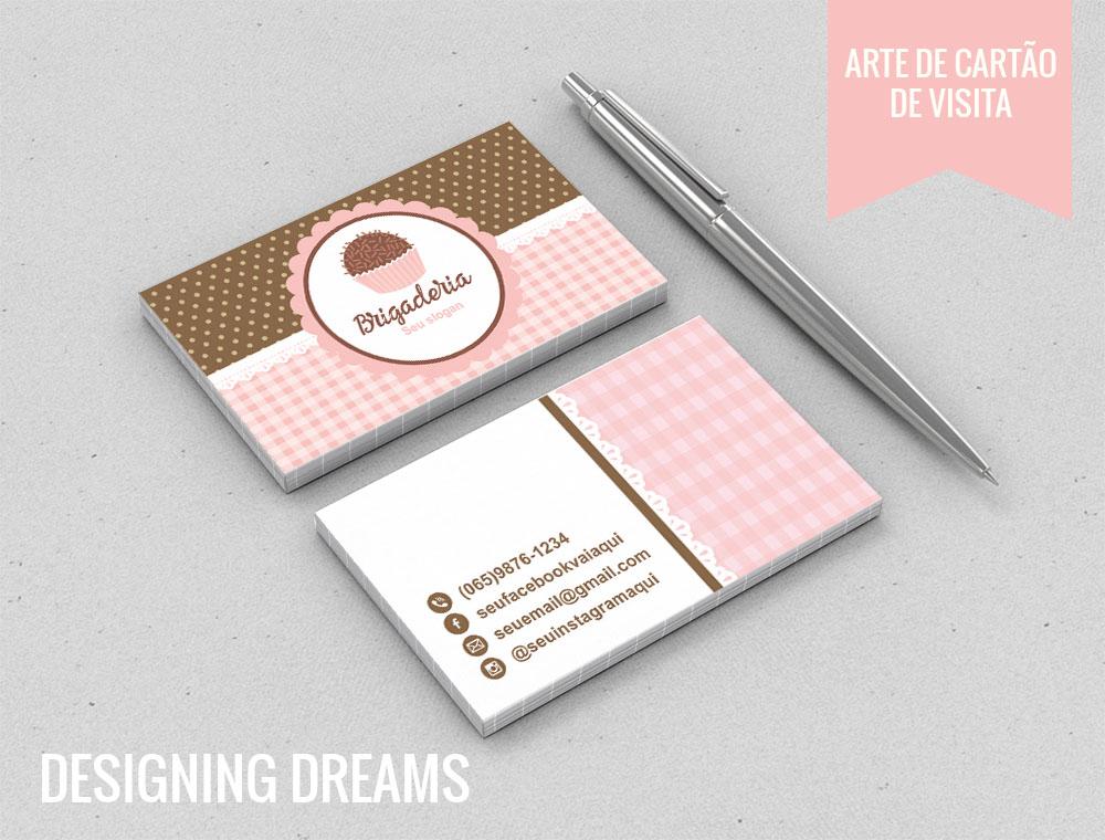 Conhecido Identidade visual Brigaderia no Elo7 | Designing Dreams (995898) HD71