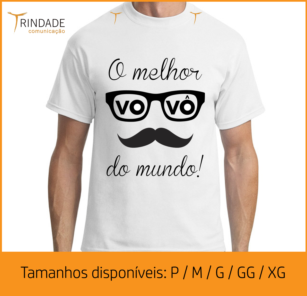 917fc382c1185 Camiseta Melhor Vovo do Mundo