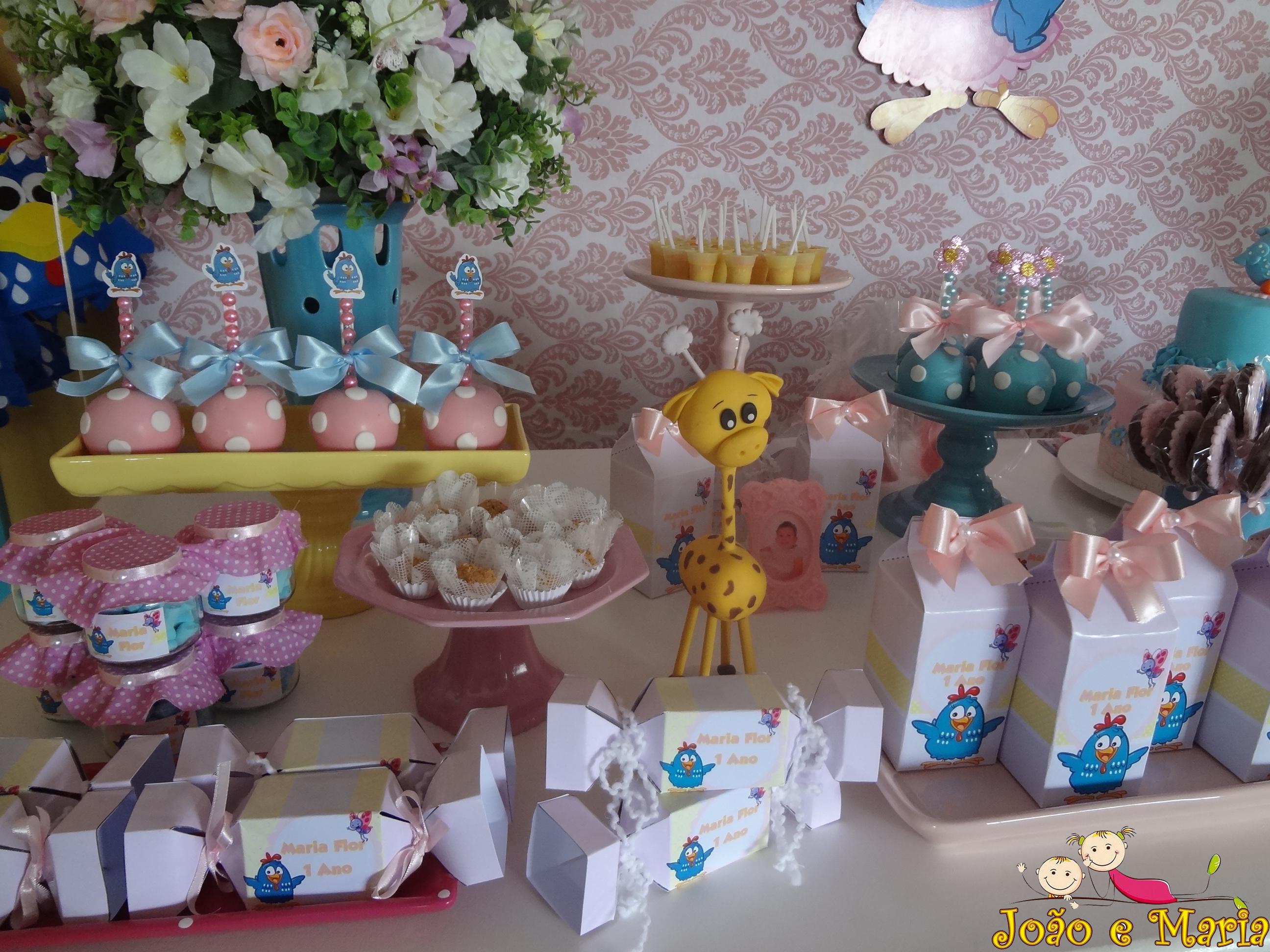 Decoração Galinha Pintadinha Rosa No Elo7 Fazendo Artes Festas