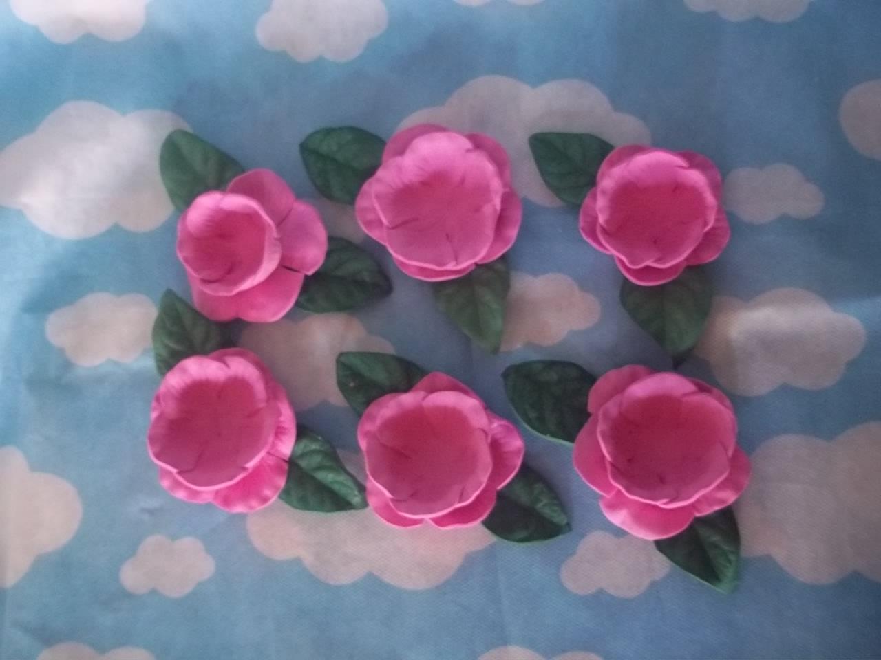 Molde Flores Eva Forminha Doces Elo7