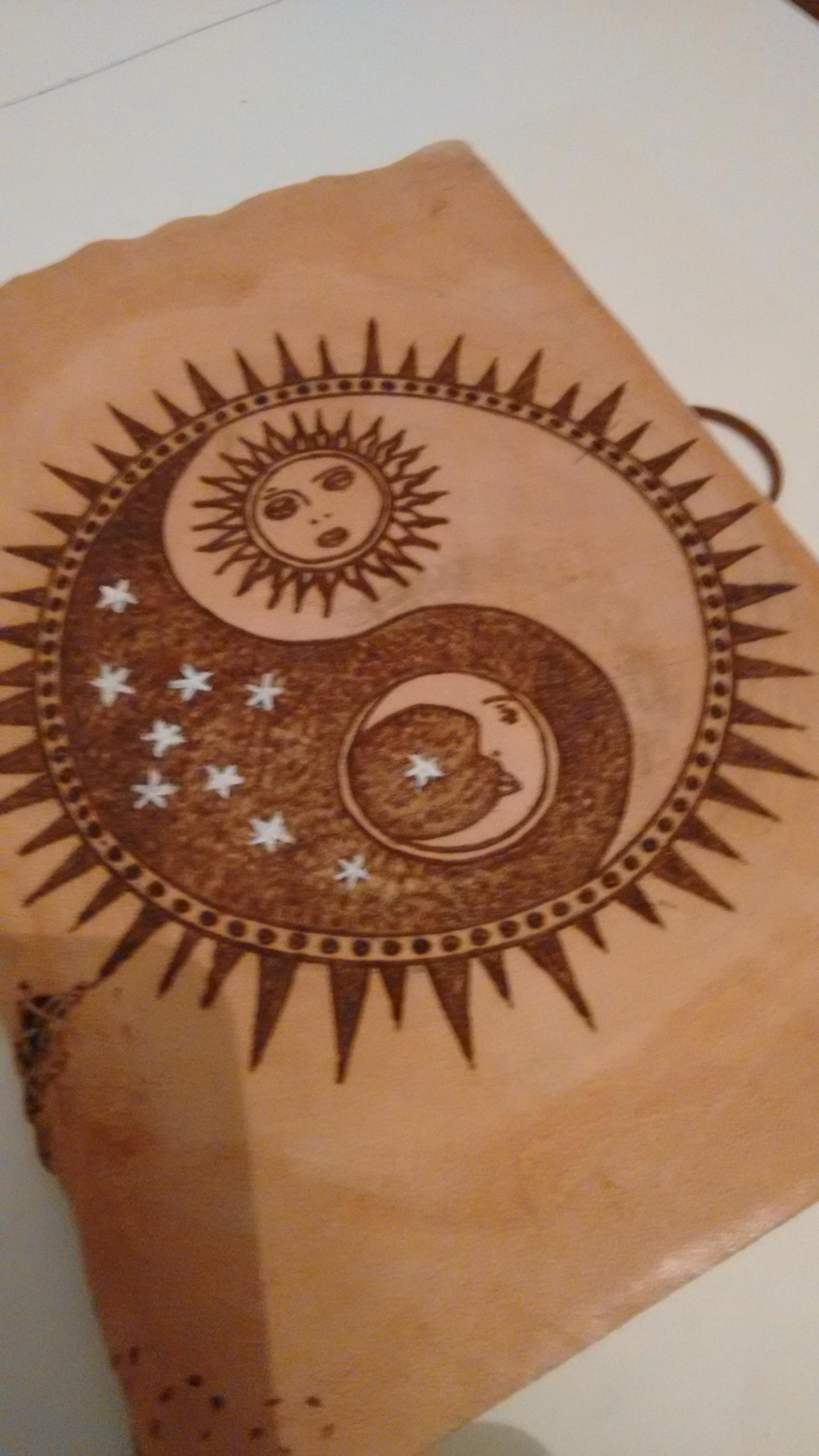d0c4238e016298 Caderno Duplo Lua e Sol | Elo7