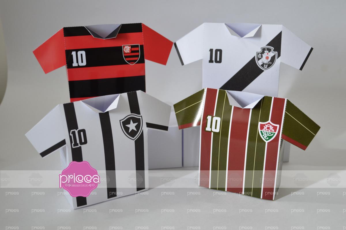 Caixa Camisa Tricolor Carioca Molde  f5af8a6259694