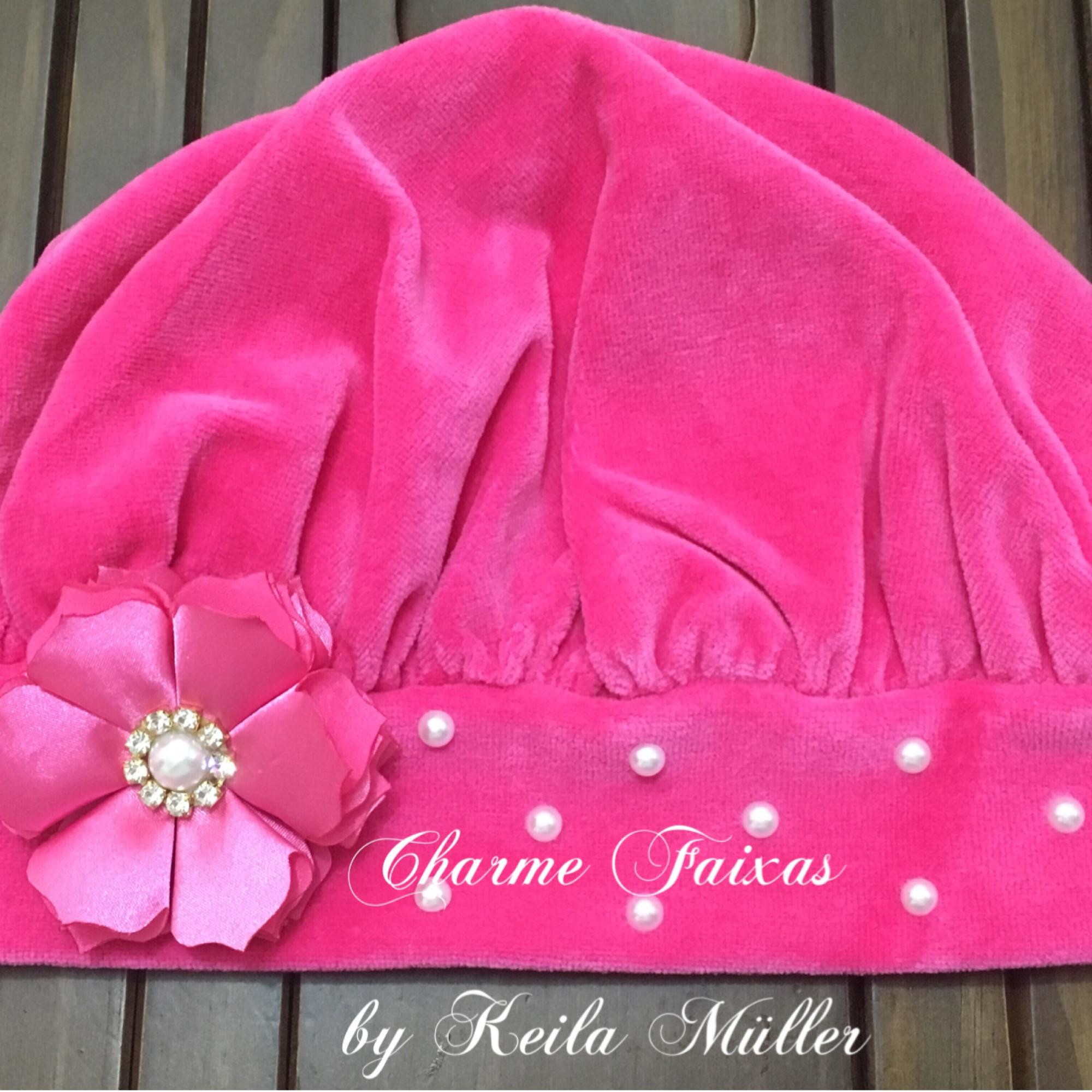 Boina Plush Pink  8dd87e6fc40